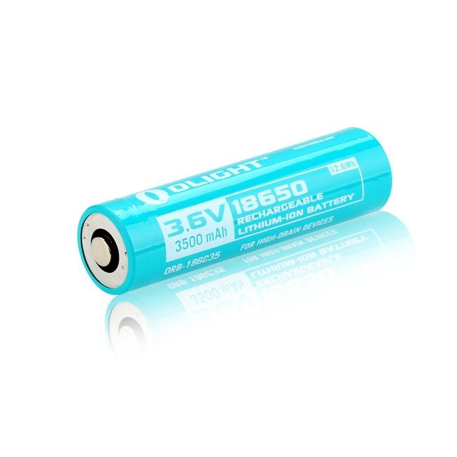 Olight 18650 customized 3500mAh battery