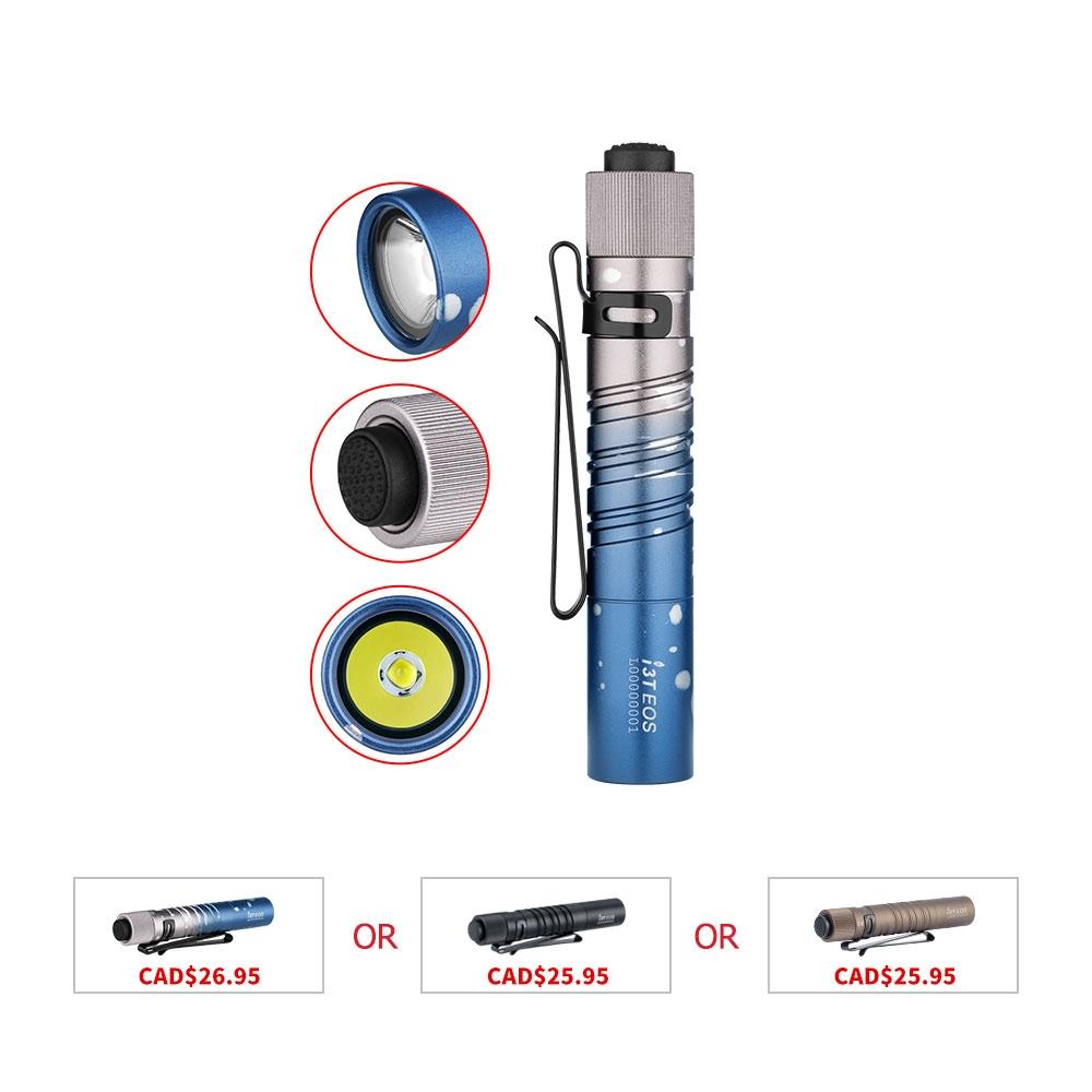 Olight I3T EOS Small LED Flashlight