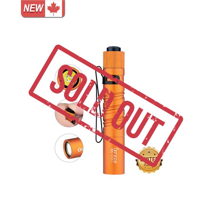 Olight I3T EOS Orange Small Flashlight