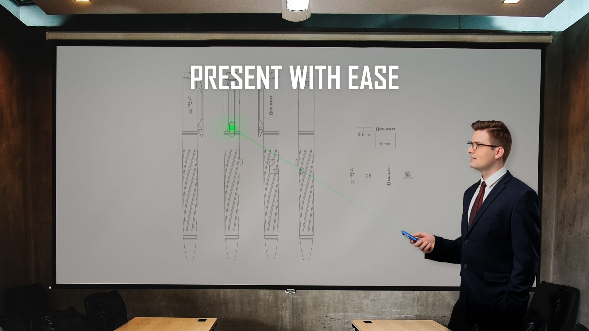 OPEN Pro Pen light Present with ease