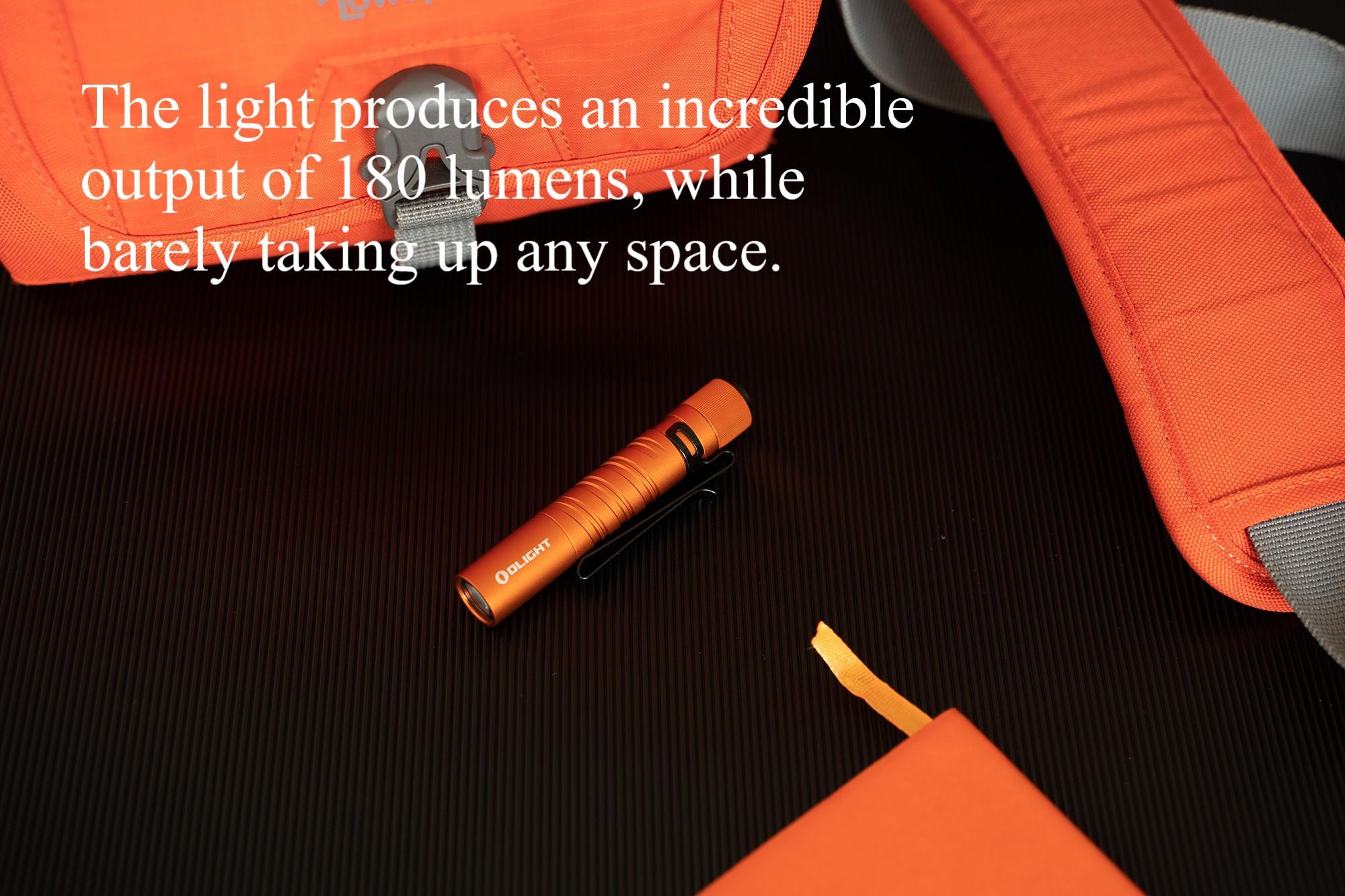 Olight I3T EOS Orange Small Flashlight Small