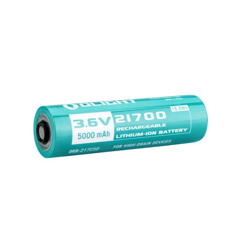 5000mAh Customized 21700 Lithium-ion Battery