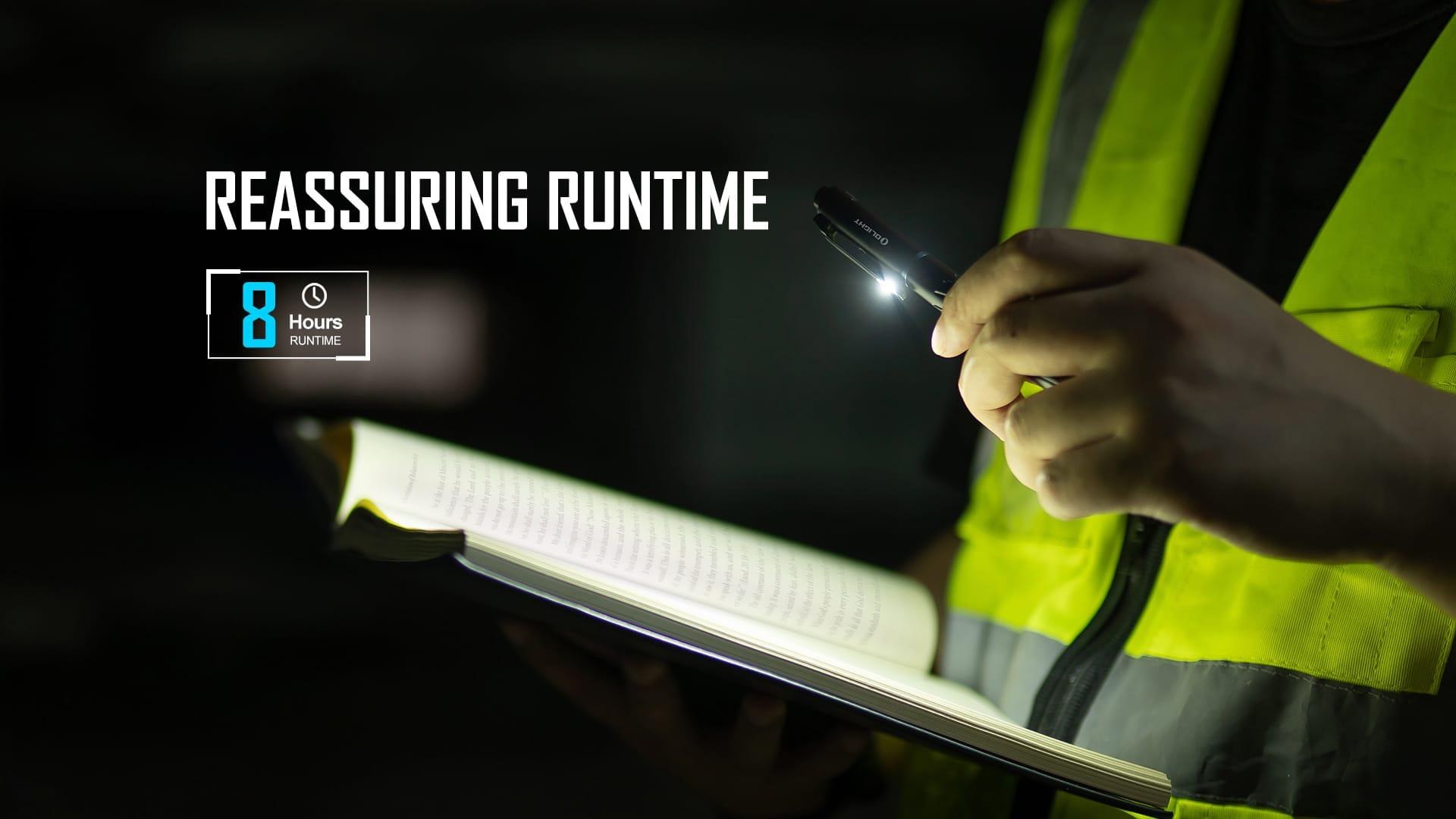 Open Pro Pen Light Reassuring Runtime