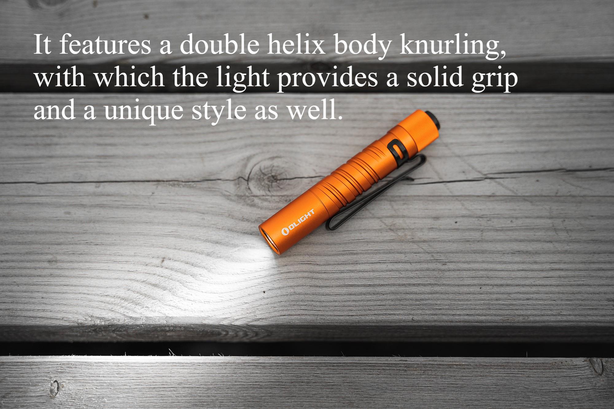 Olight I3T EOS Orange Small Flashlight Unique Style