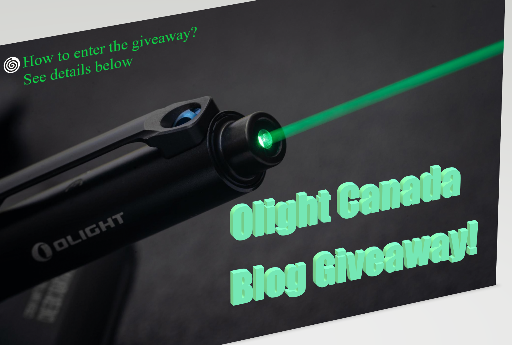 Never Miss A Giveaway! Comment to Win An Open Pro