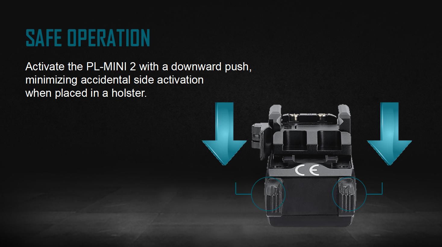 PL-Mini 2 Tactical Flashlight Safe Operation