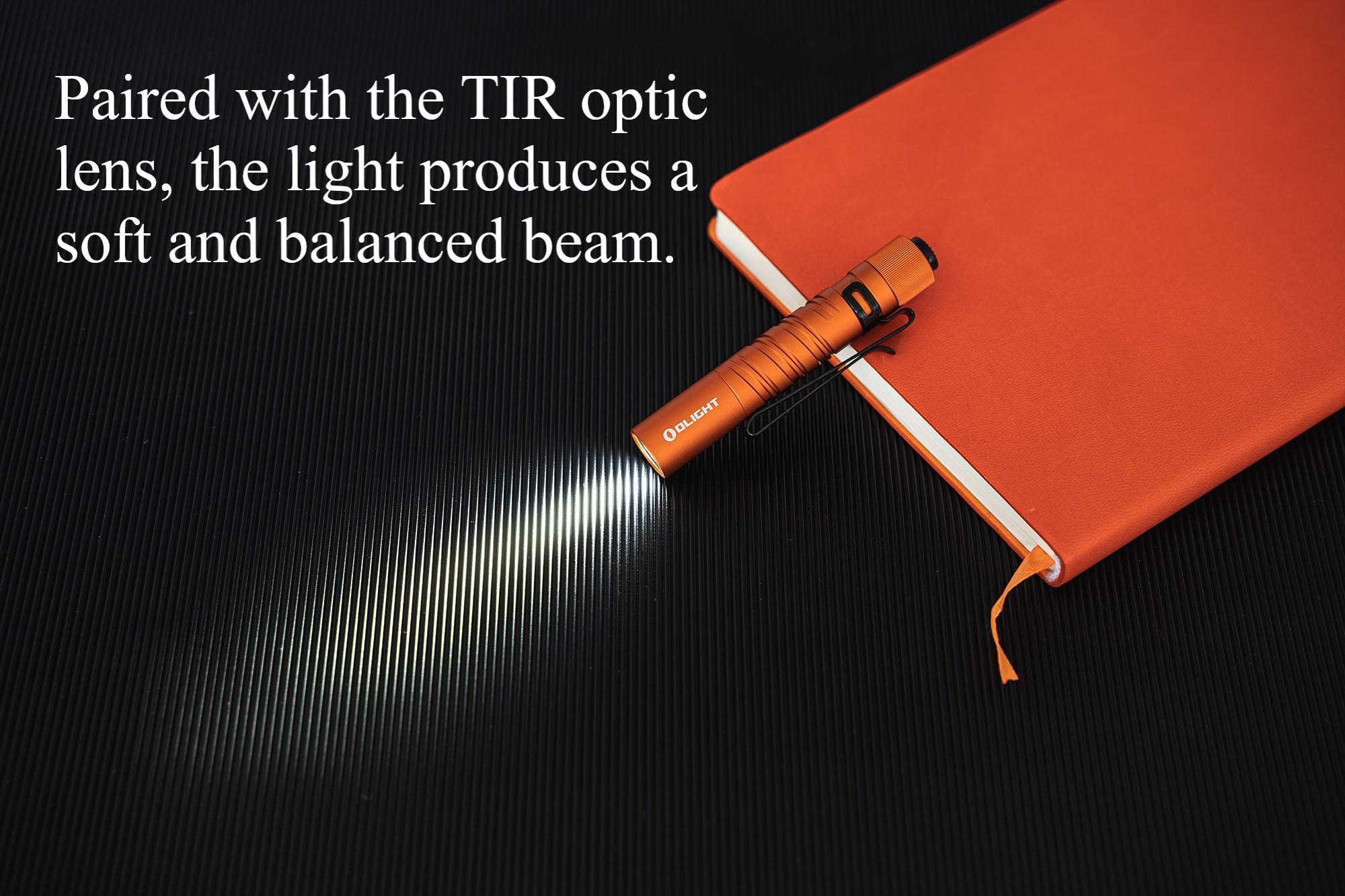Olight I3T EOS Orange Small Flashlight Premium
