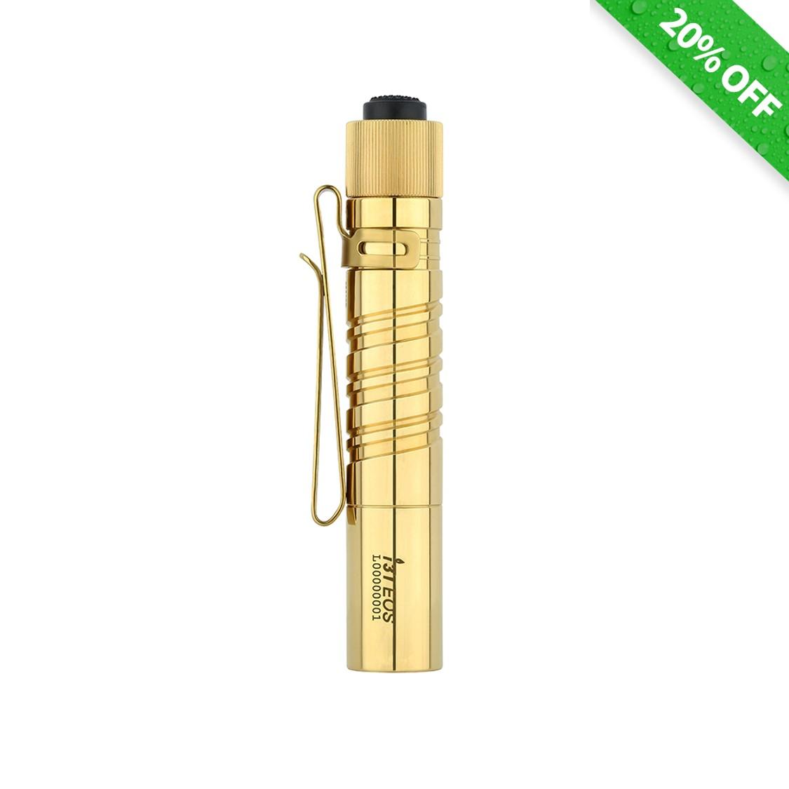 Olight i3T Brass