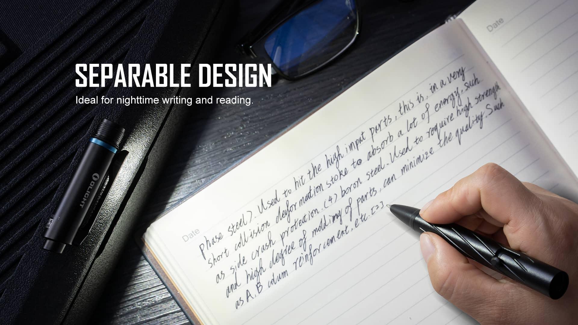 Open Pro Pen Light Separable Design