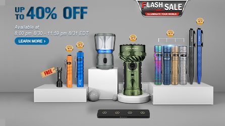 12 New-release Products, Up to 40% OFF in August Flashsale!