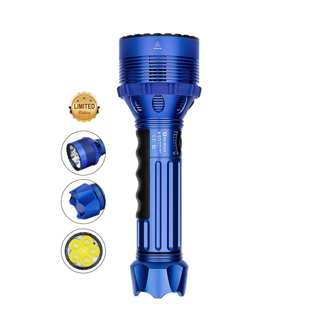 Olight X9R Blue High Lumen Flashlight