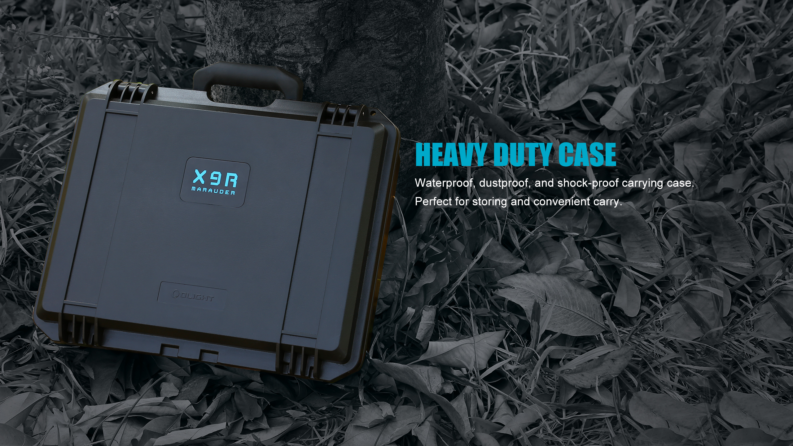 X9R Brightest Flashlight Case