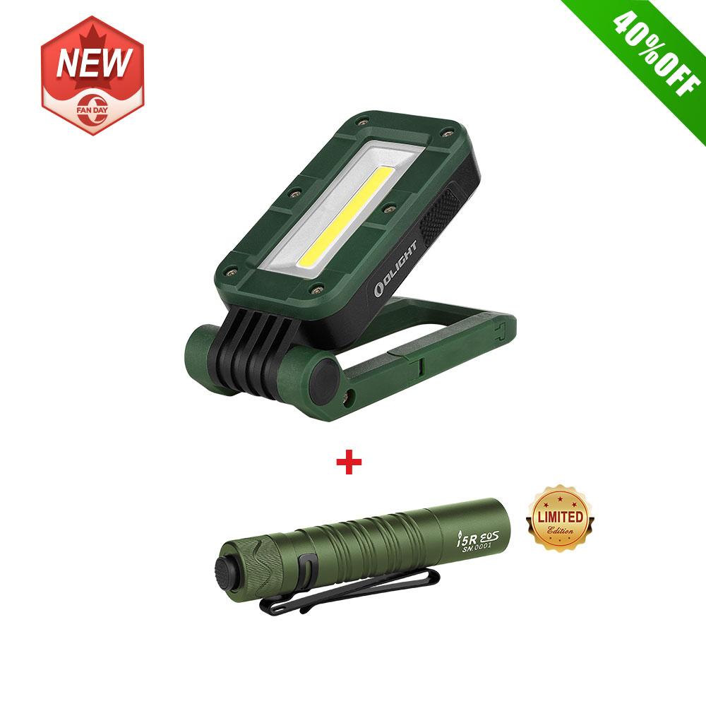 Olight SWIVEL Moss Green Bundle i5R OD Green