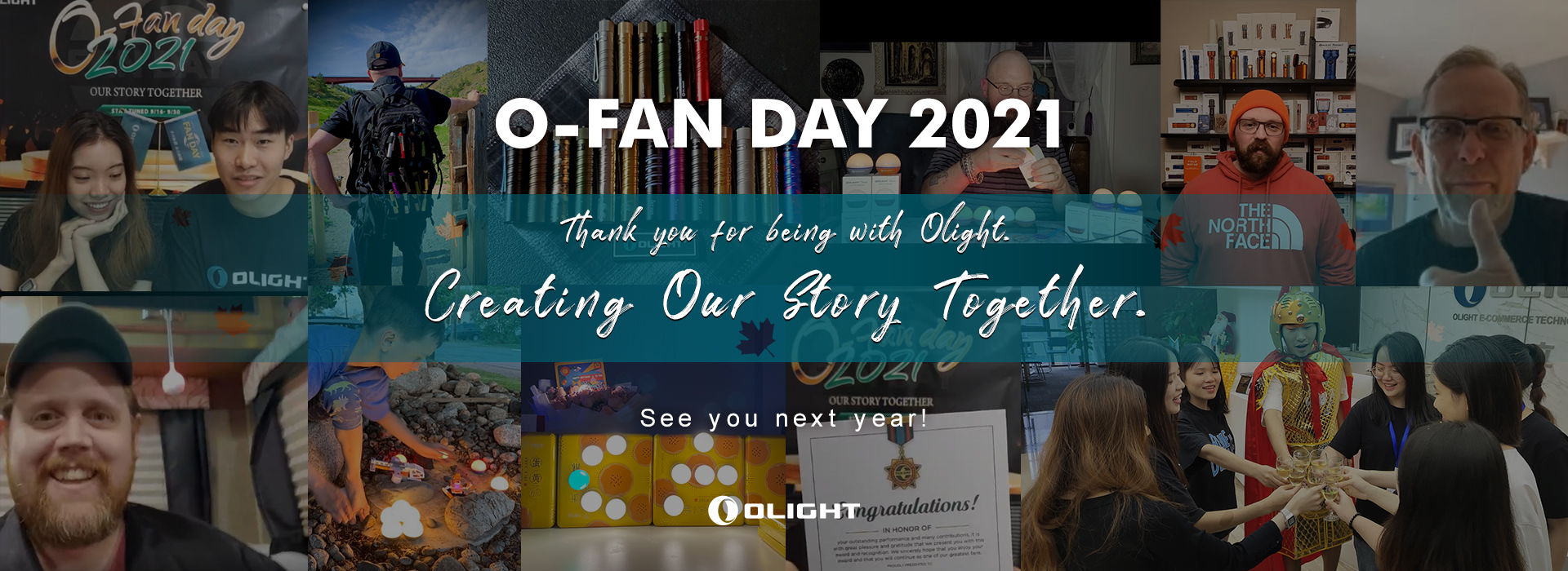 Thank you - You make Olight better