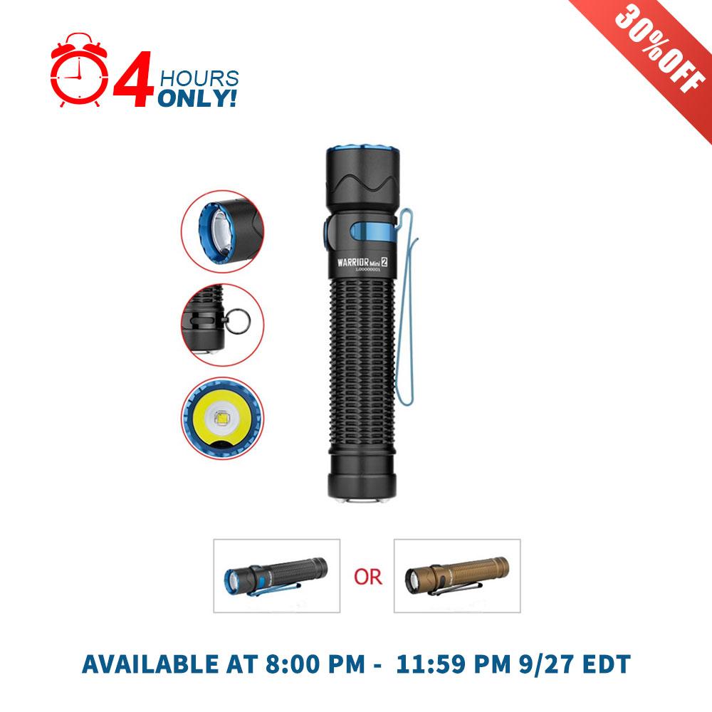 Olight Warrior Mini 2 Best EDC Flashlight