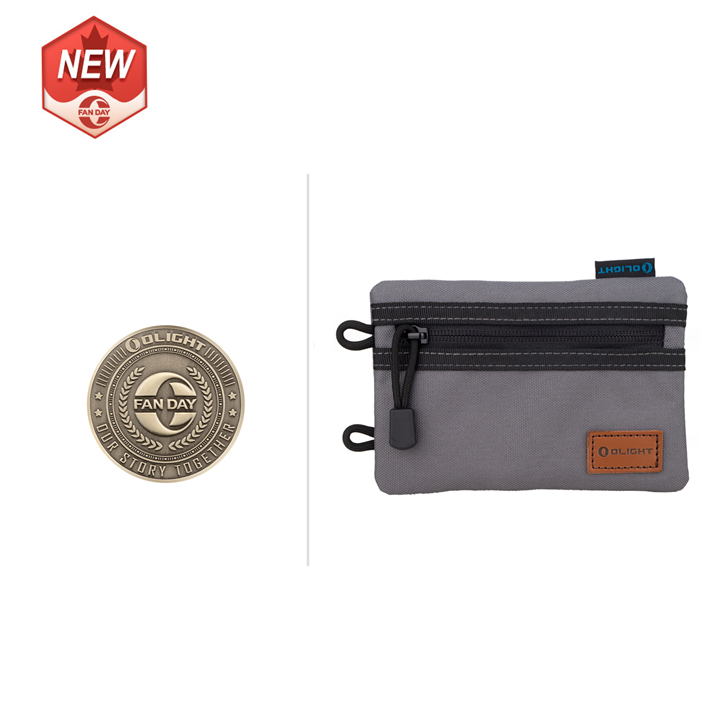 Olight O-Fan Day Coin and Bag