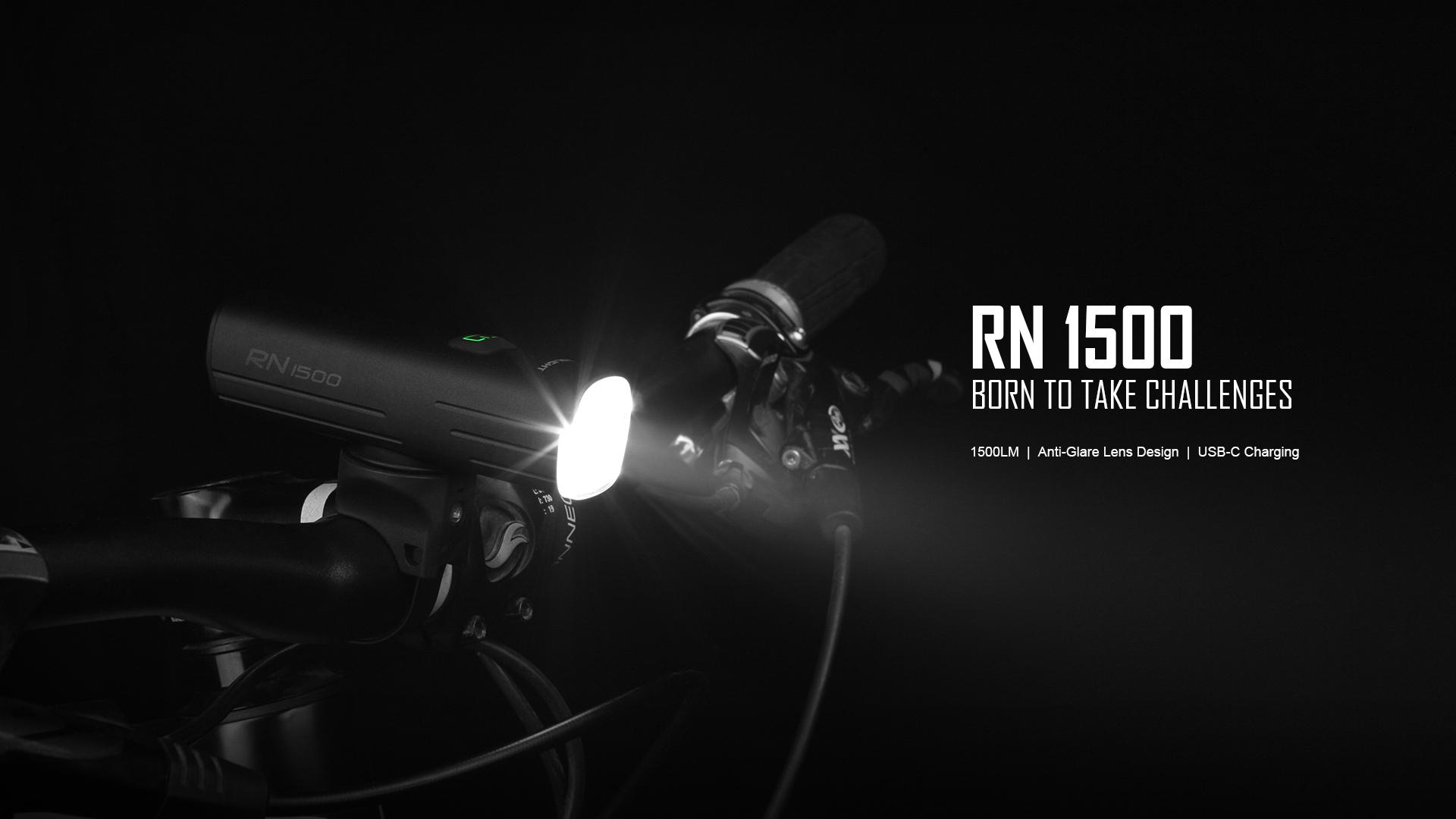 RN1500 Bike Headlight IPX7