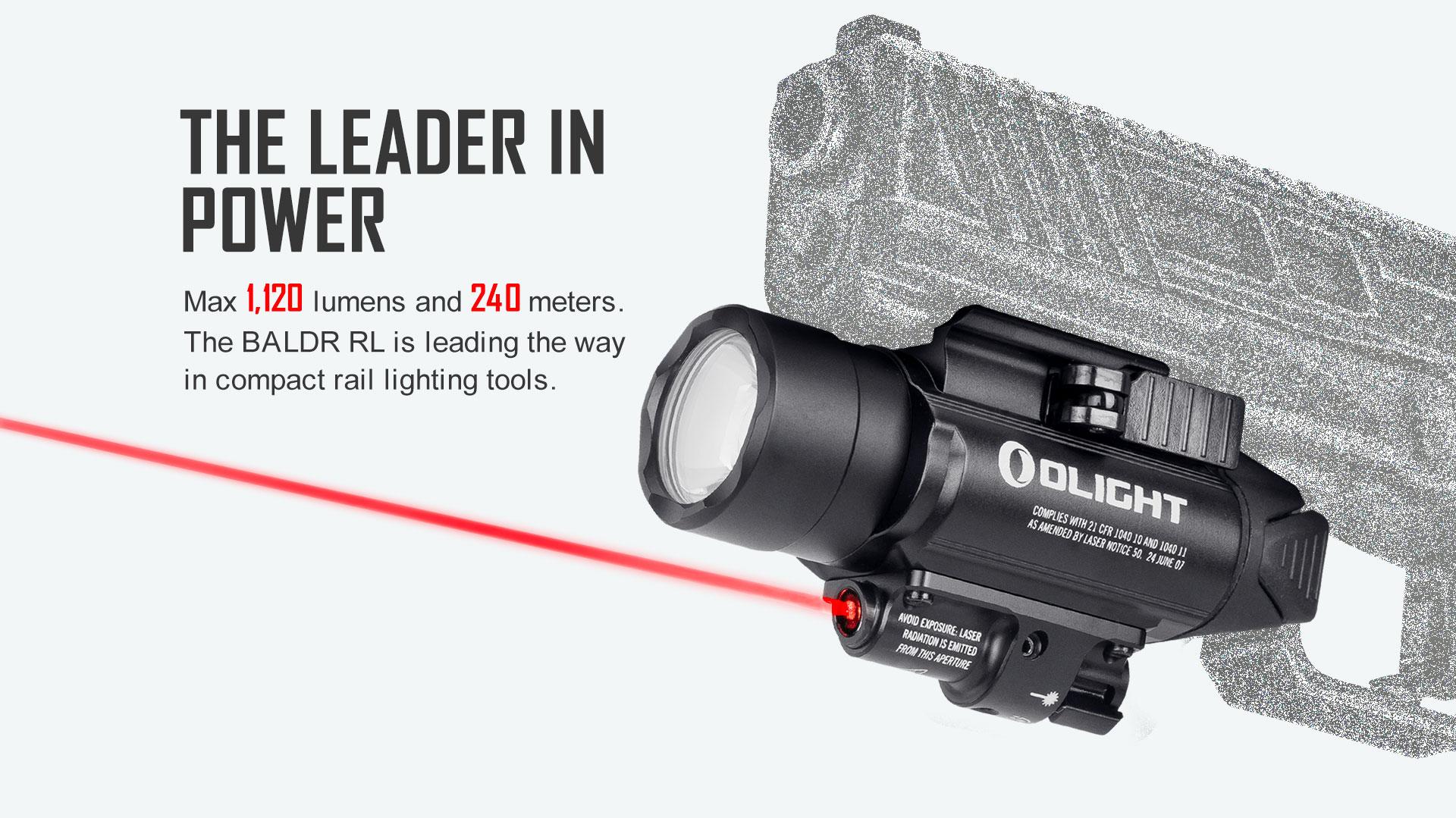Baldr RL Light Laser Combo Leading Poweer