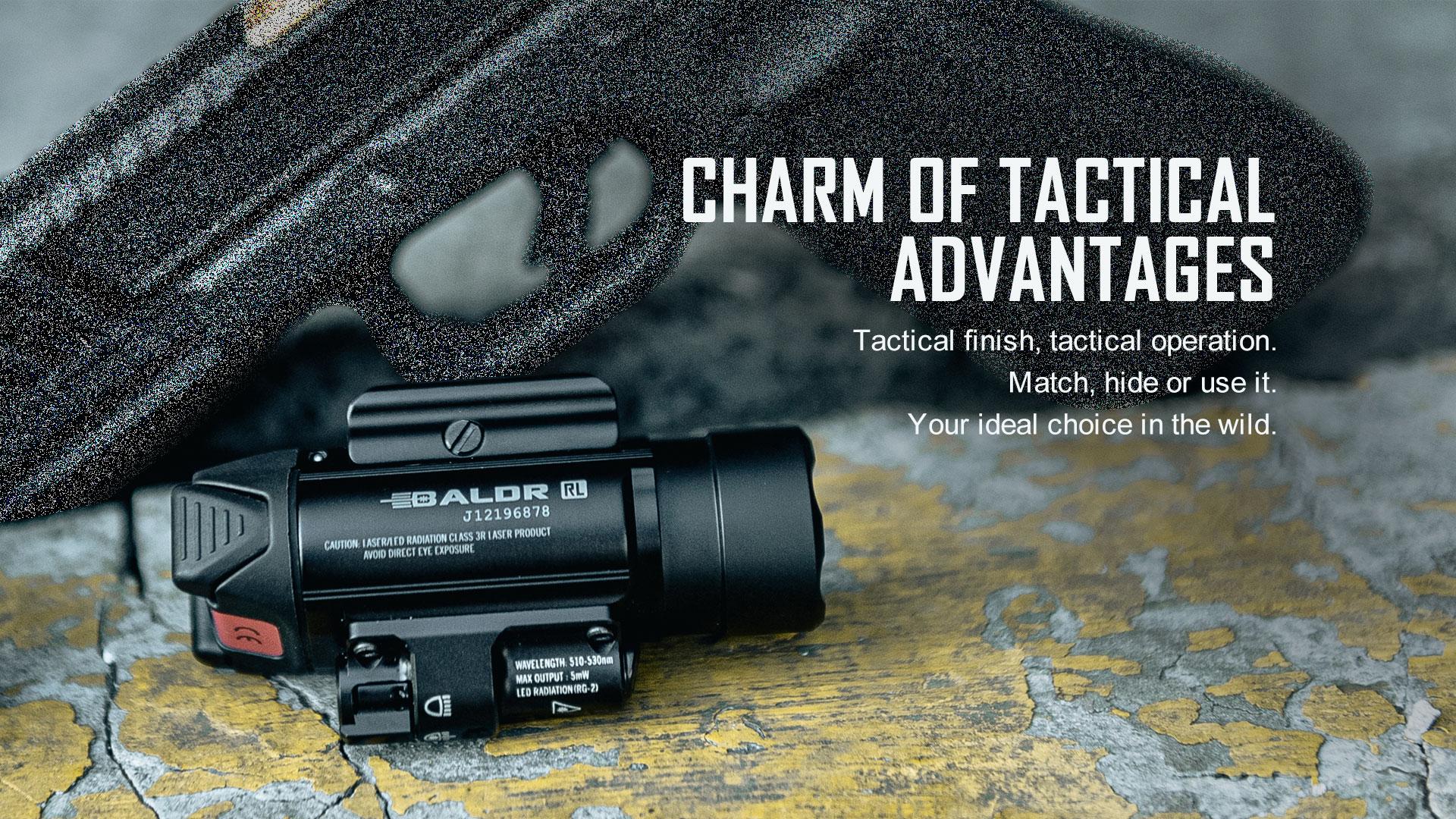 Baldr RL Light Laser Combo Tactical Light