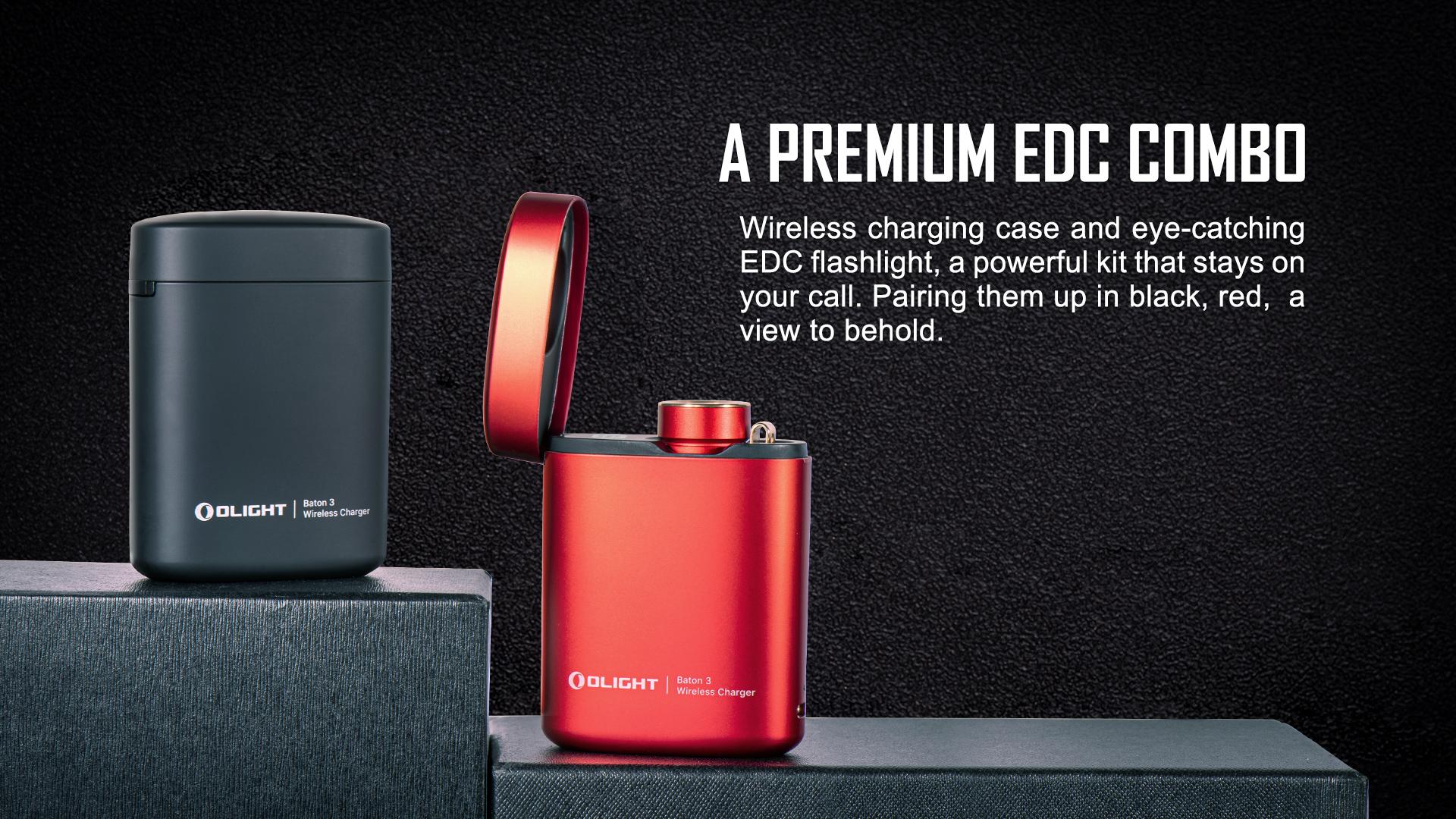Olight Baton 3 Rechargeable LED Premium Combo