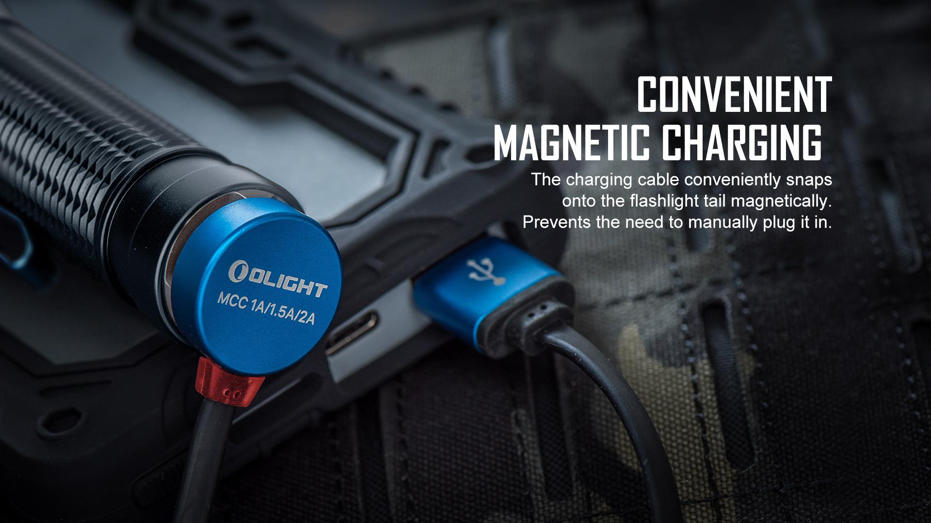 Warrior Mini 2 fast charging flashlight