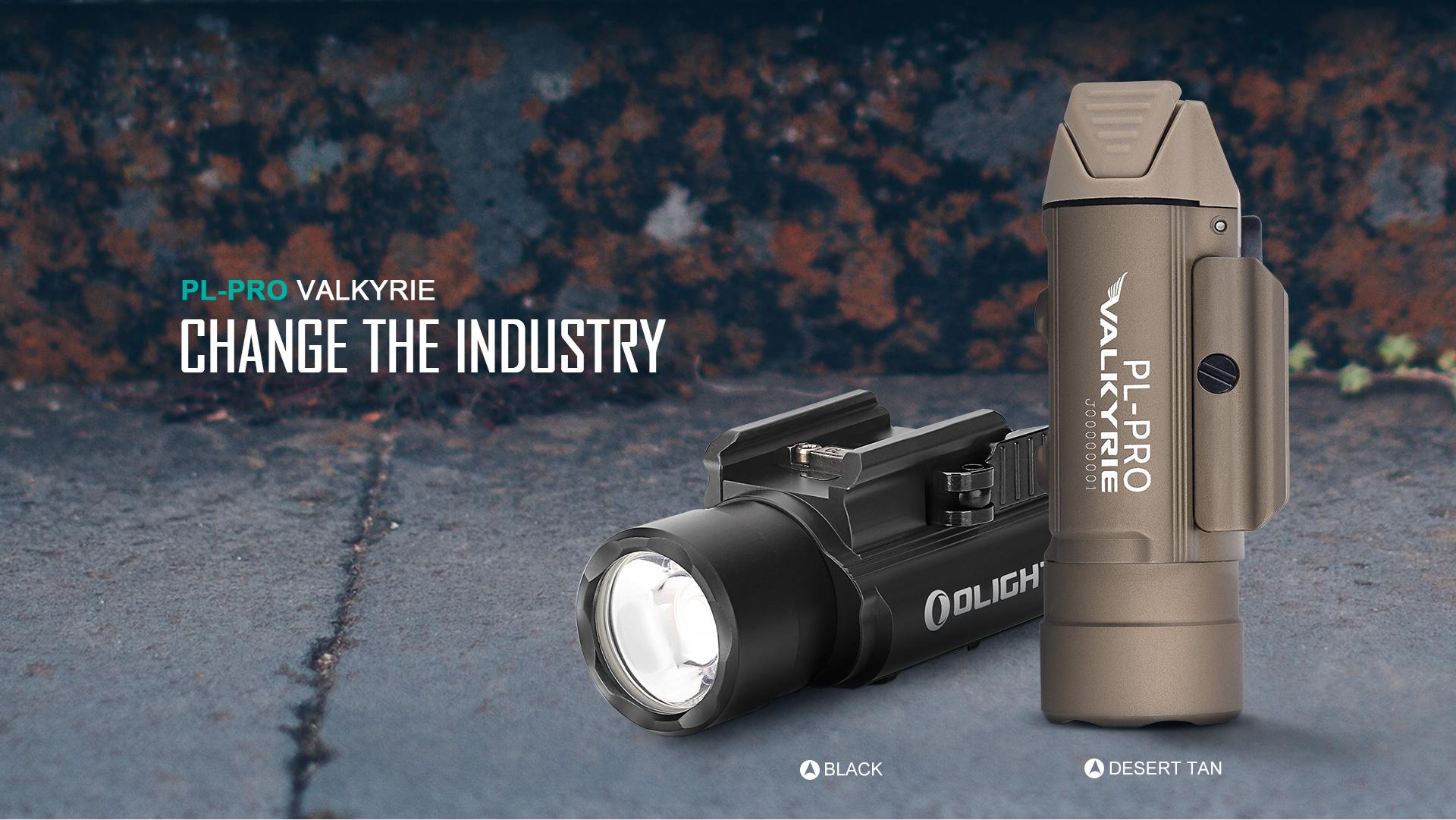 PL-Pro tactical rail light rechargeable
