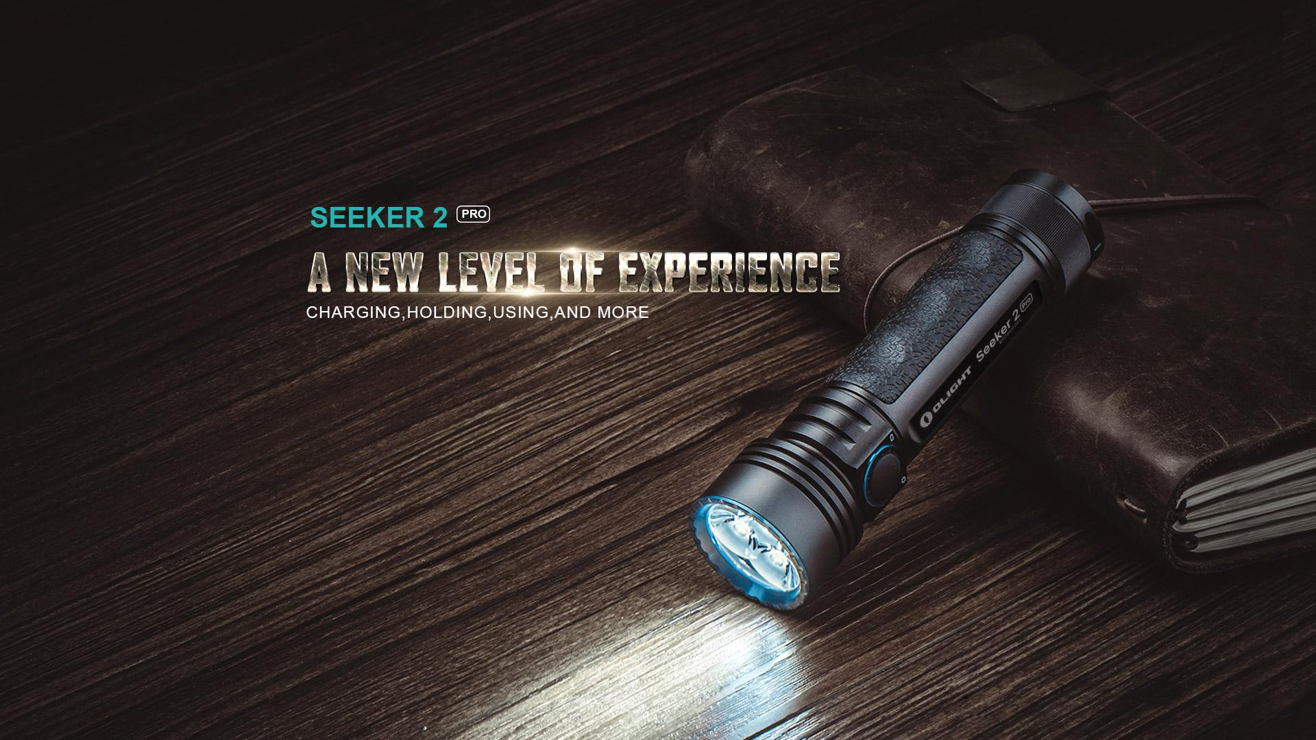 Seeker 2 PRO Rechargeable LED Flashlight