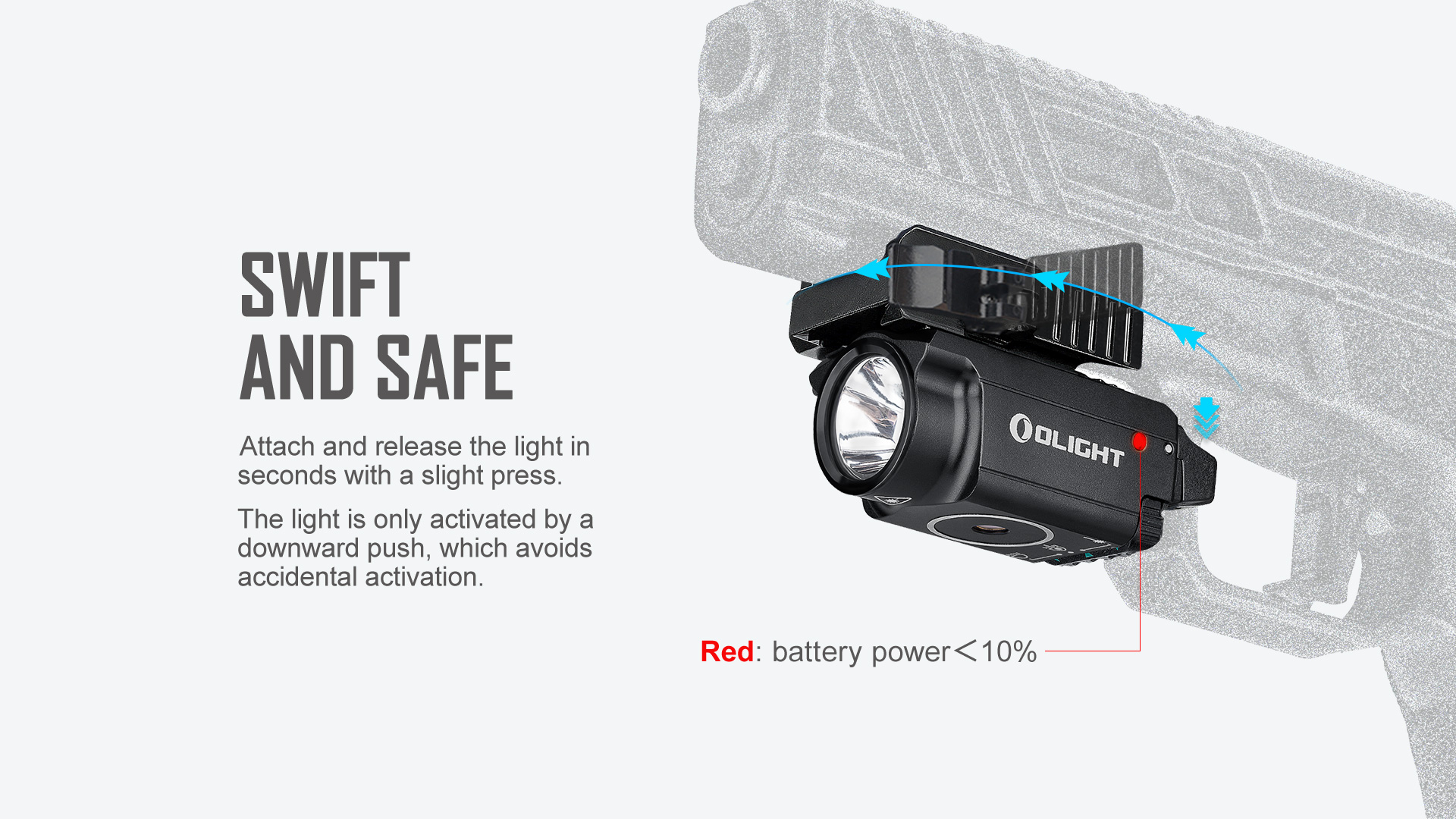 tbaldr mini tactical light laser combo