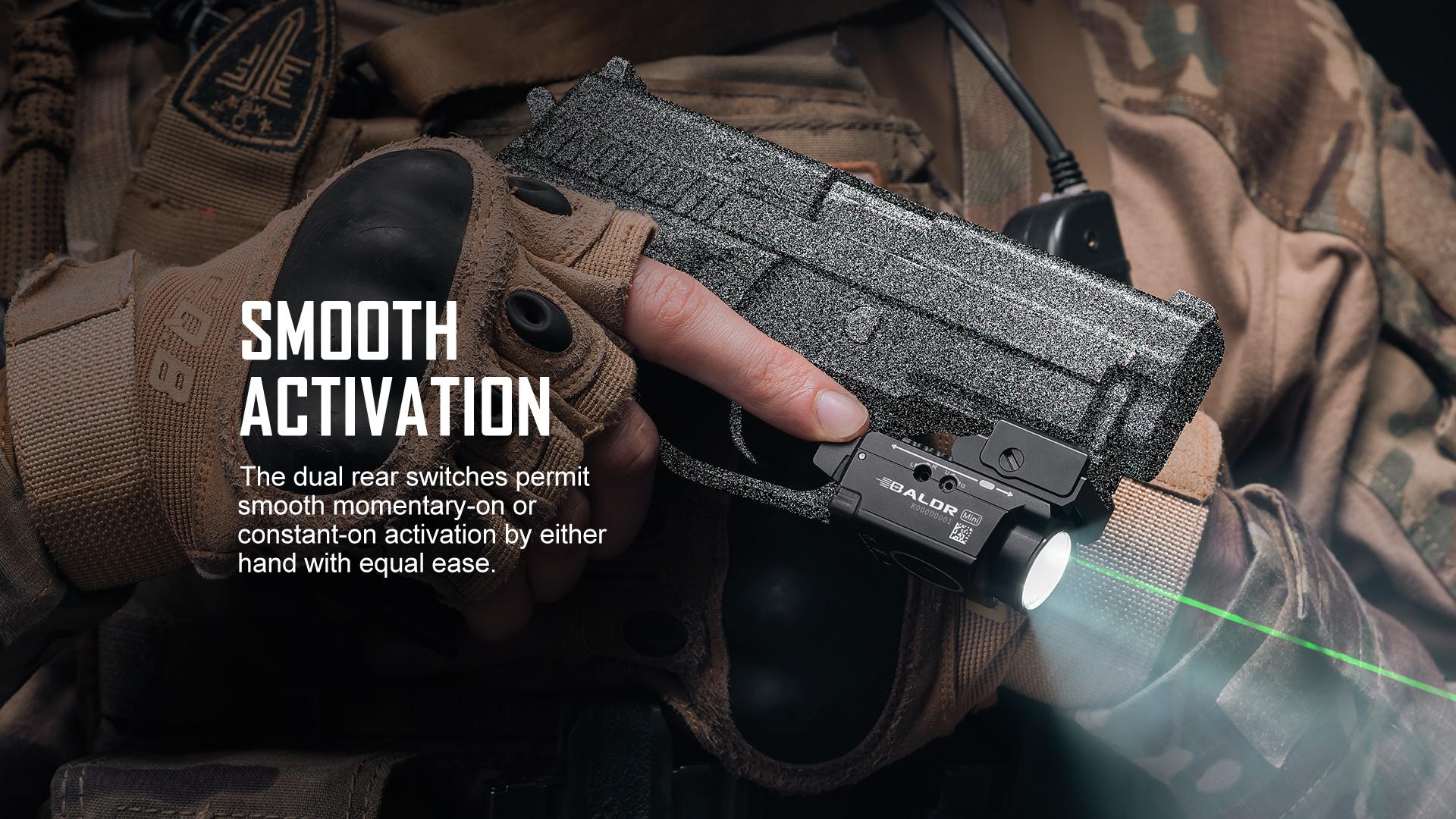 tactical light laser combo