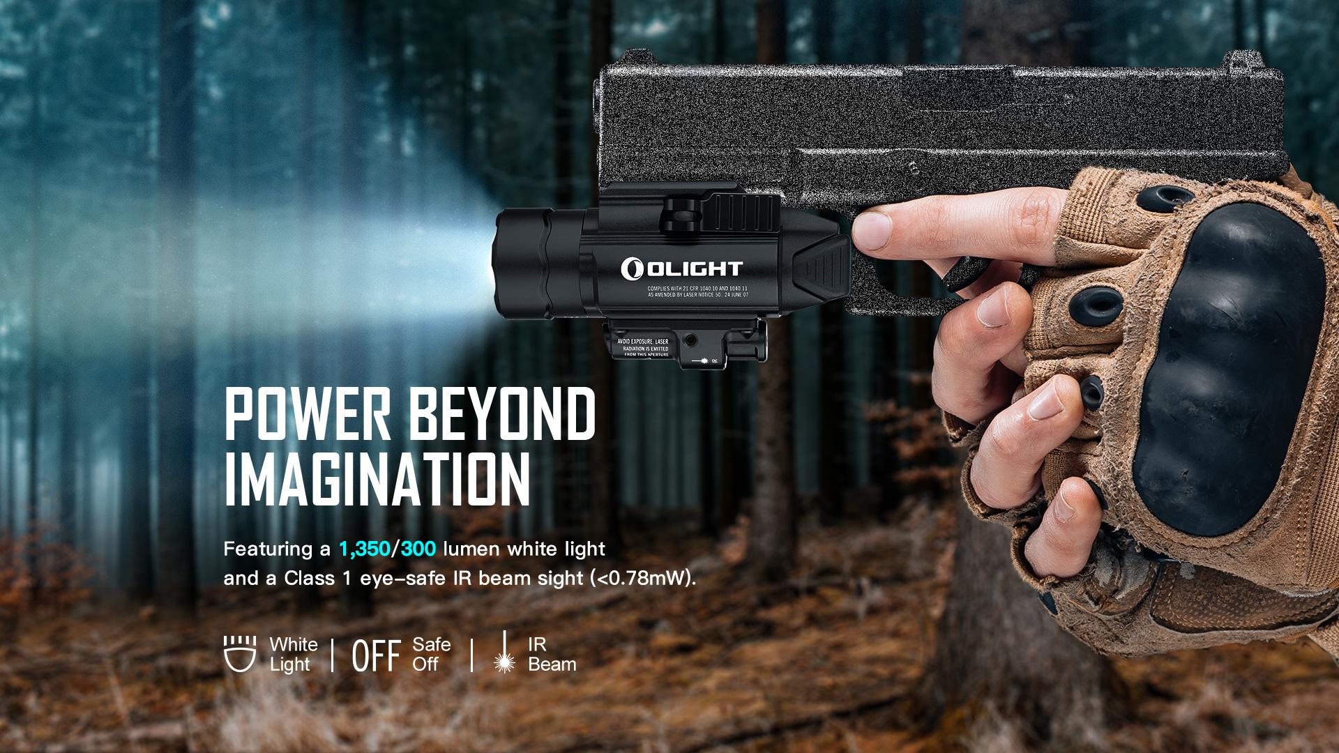 Olight Baldr IR Rail Mount Tactical Light Powerful light