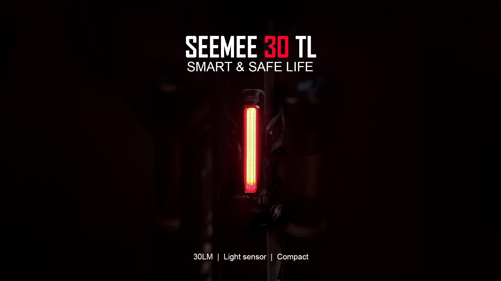 Seemee 30 TL Rear Bike Light 30 Lumens