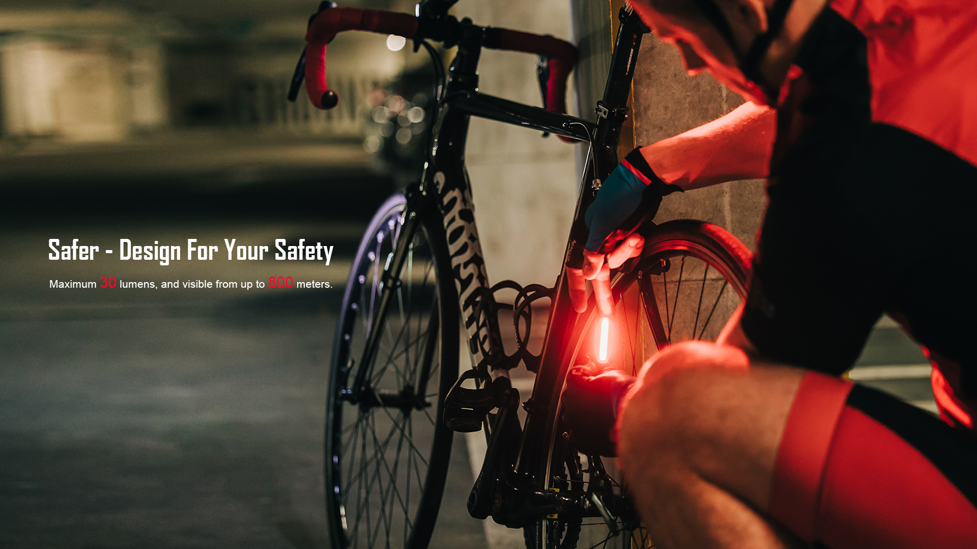 Seemee 30 TL Rear Bike Light Safer