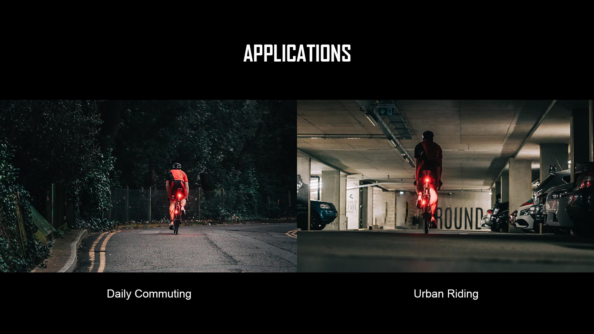 Seemee 30 TL Rear Bike Light Application