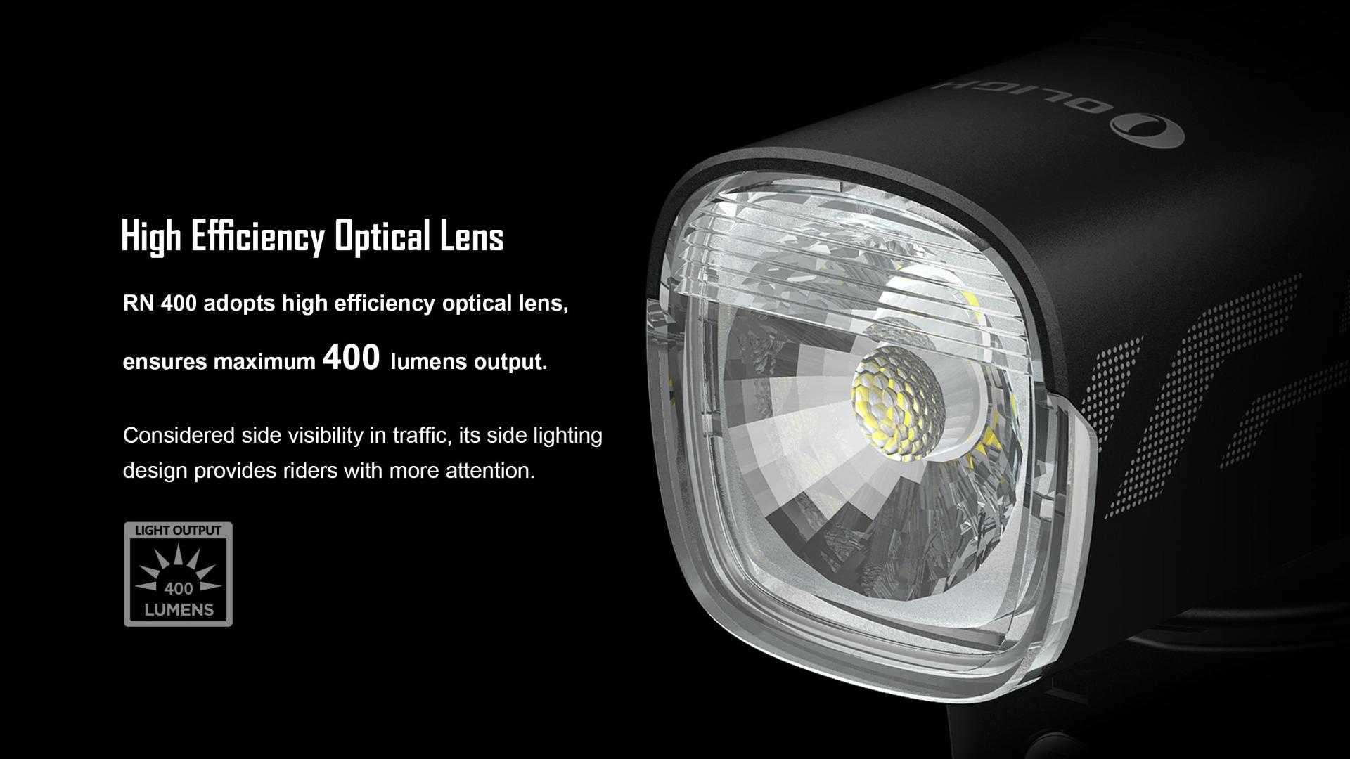 Olight RN 400 Bike LED Light Headlight High Efficiency