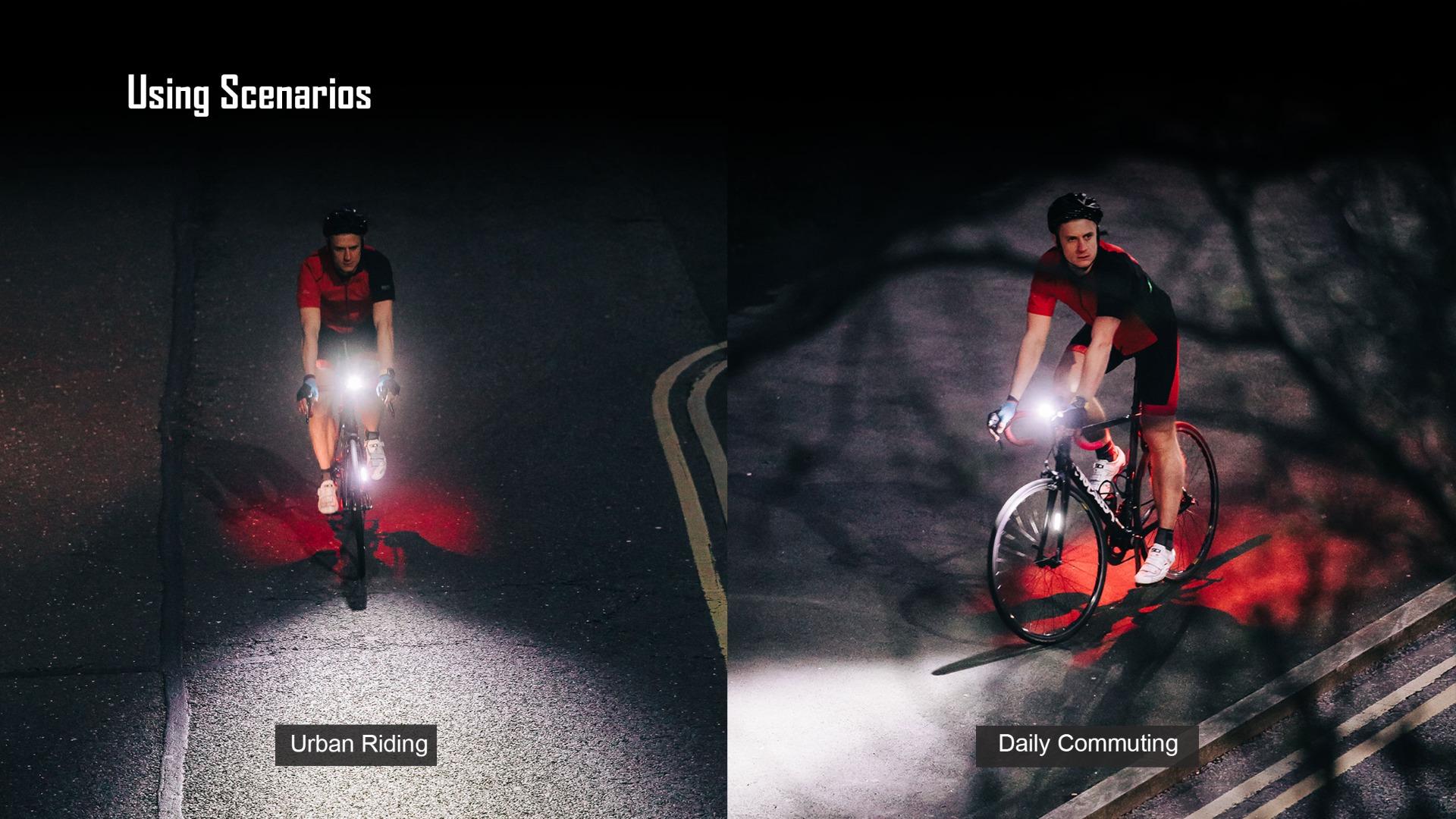 Olight RN 400 Bike LED Light Headlight Using Scenios