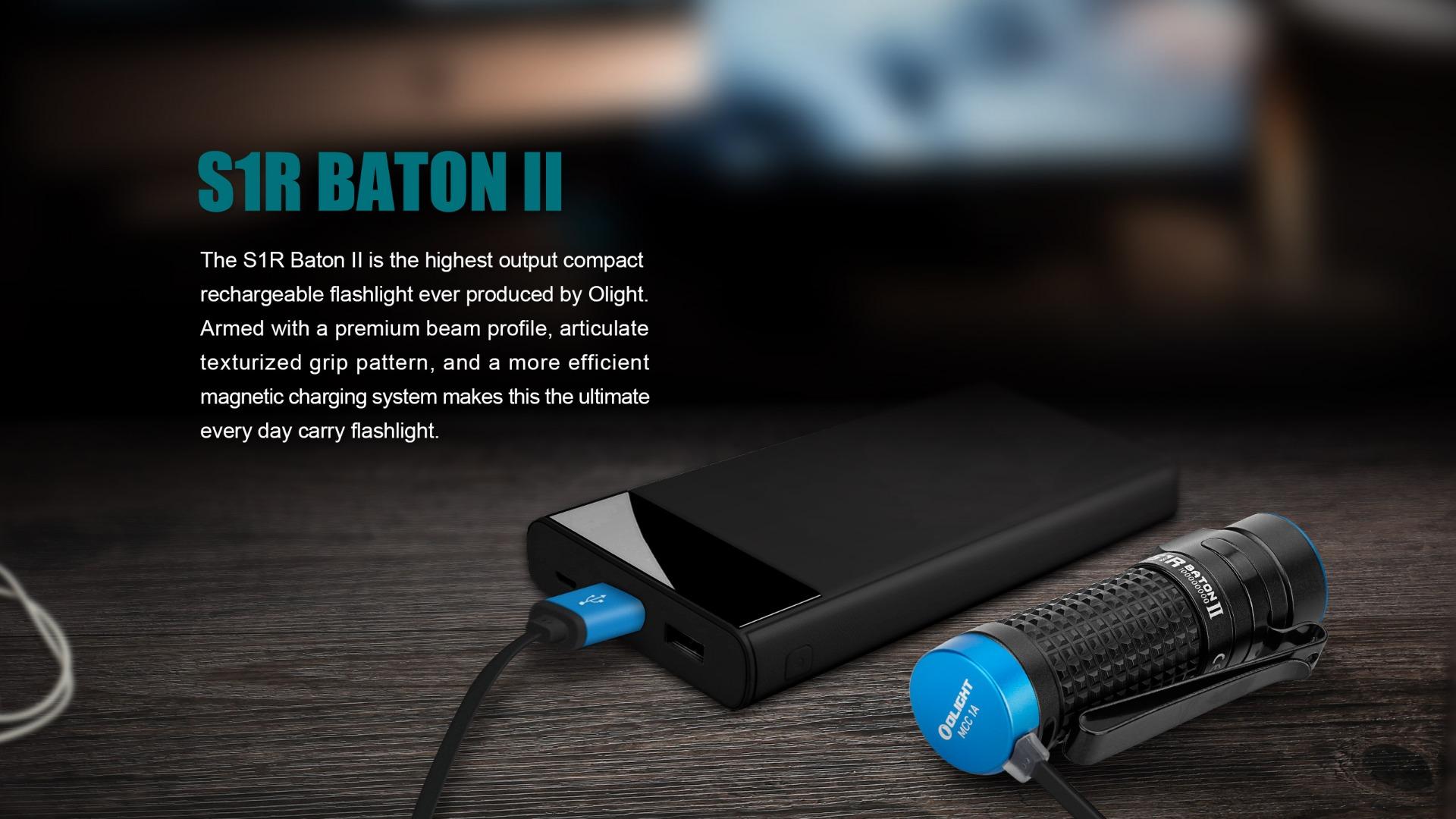 S1R Baton II  EDC Flashlight Introduction