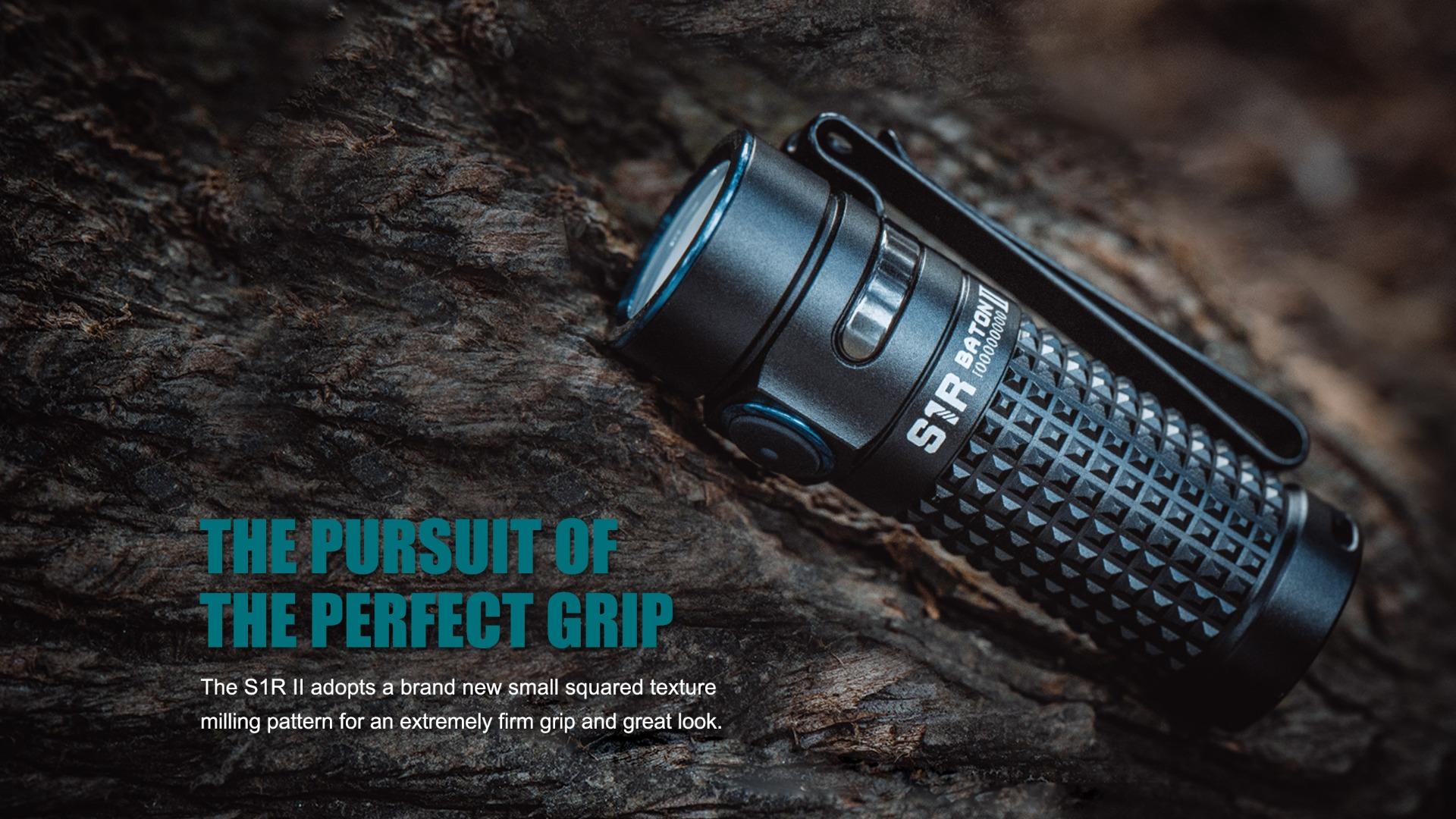 S1R Baton II  EDC Flashlight Grip