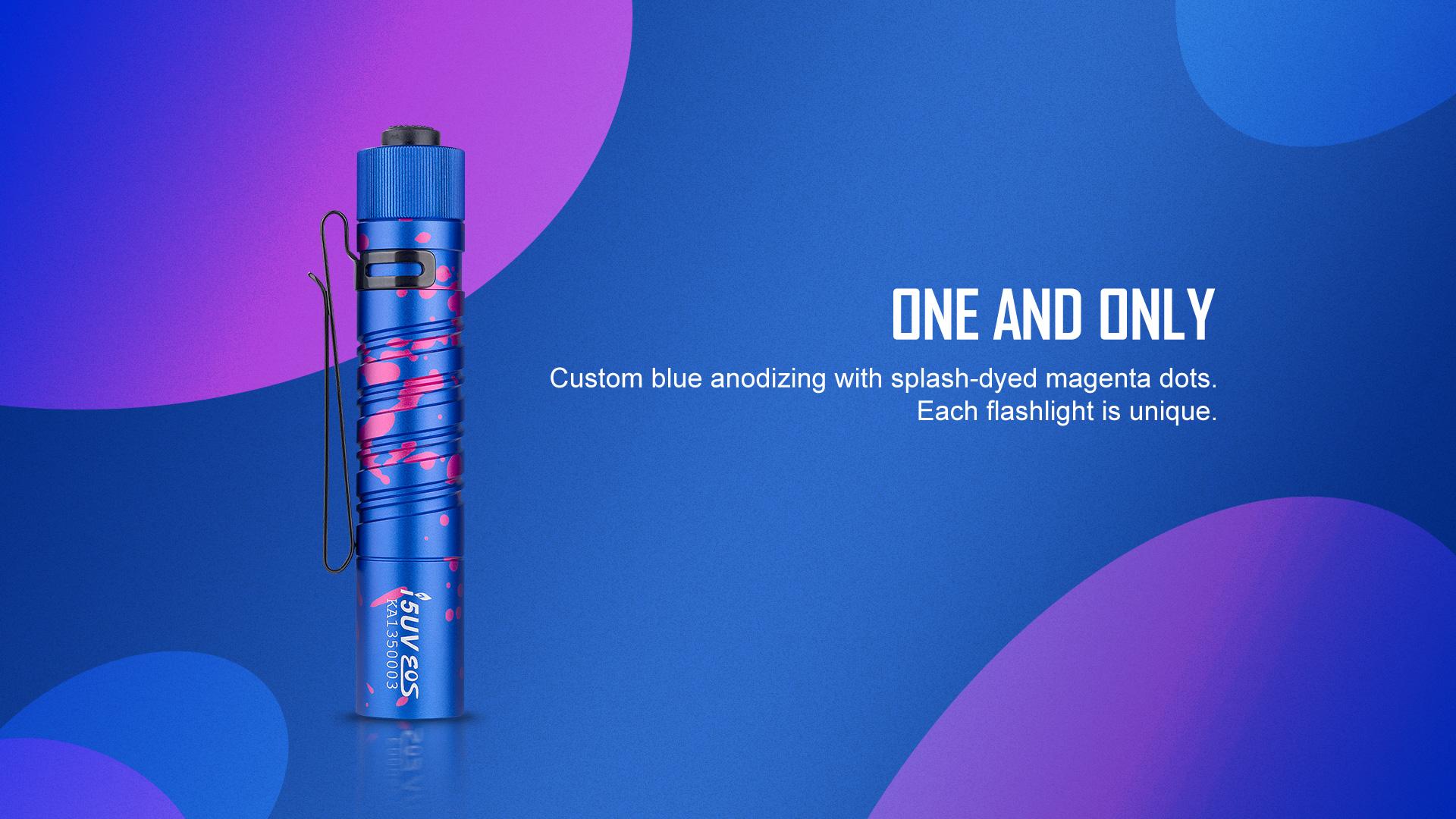 Olight i5 UV EOS Ultraviolet Flashlight Amazing Color