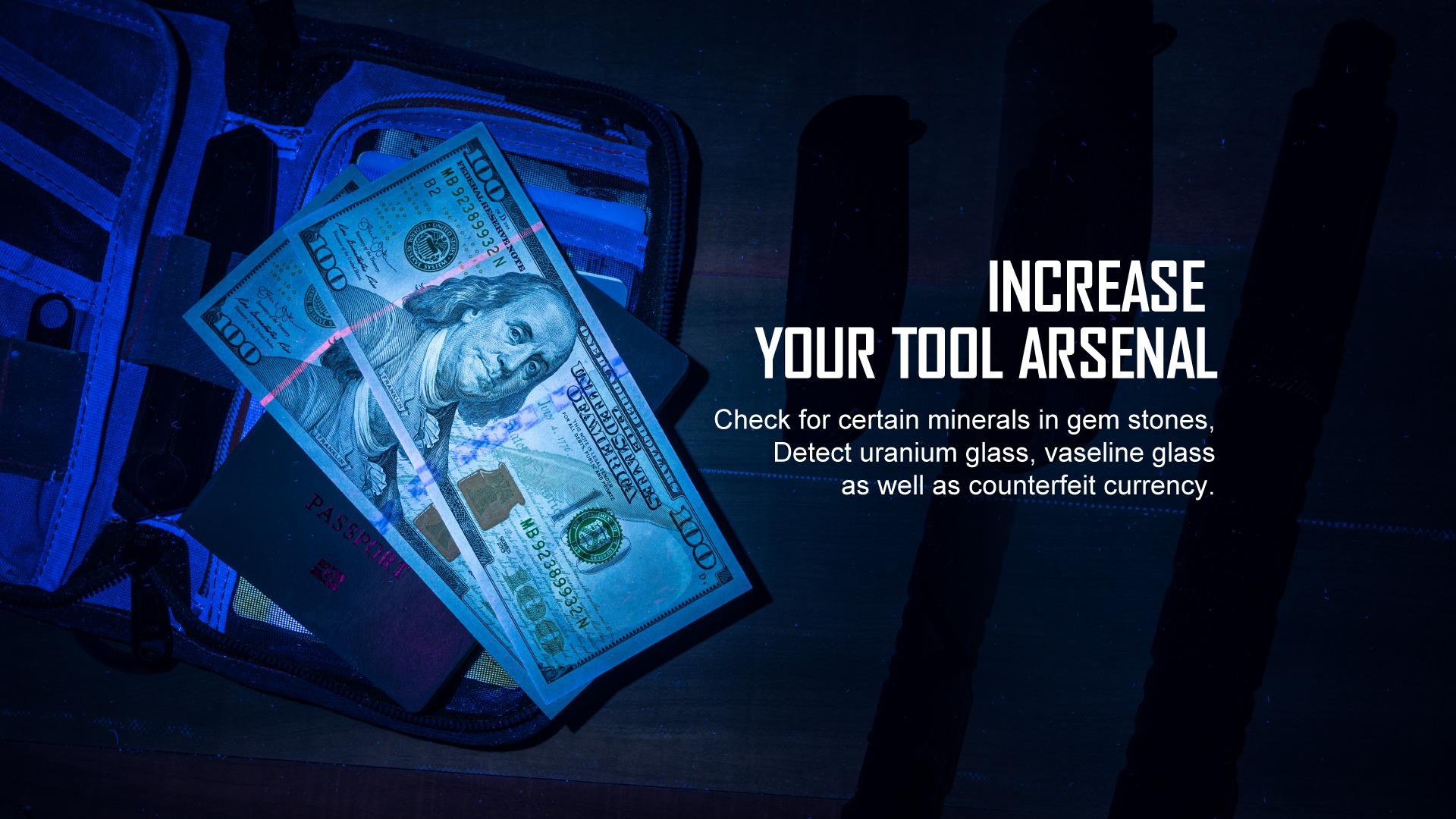 Olight i5 UV EOS Ultraviolet Flashlight Tool Arsenal