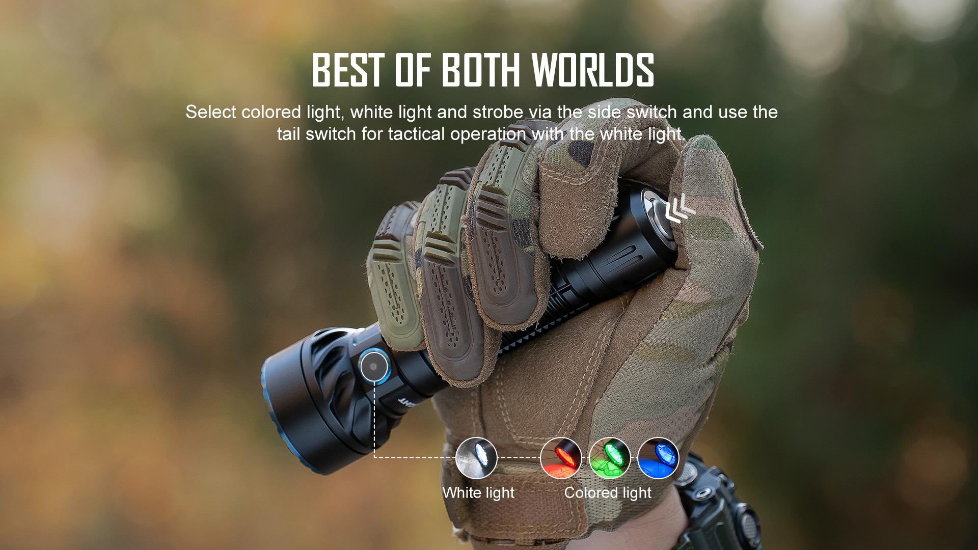 Freyr tactical flashlight