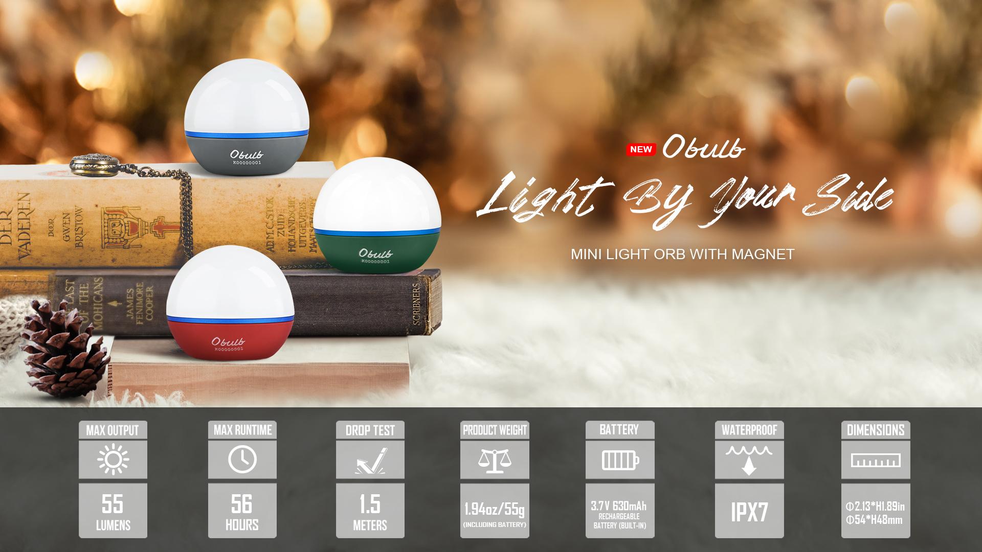 Obulb Outdoor Ball Light