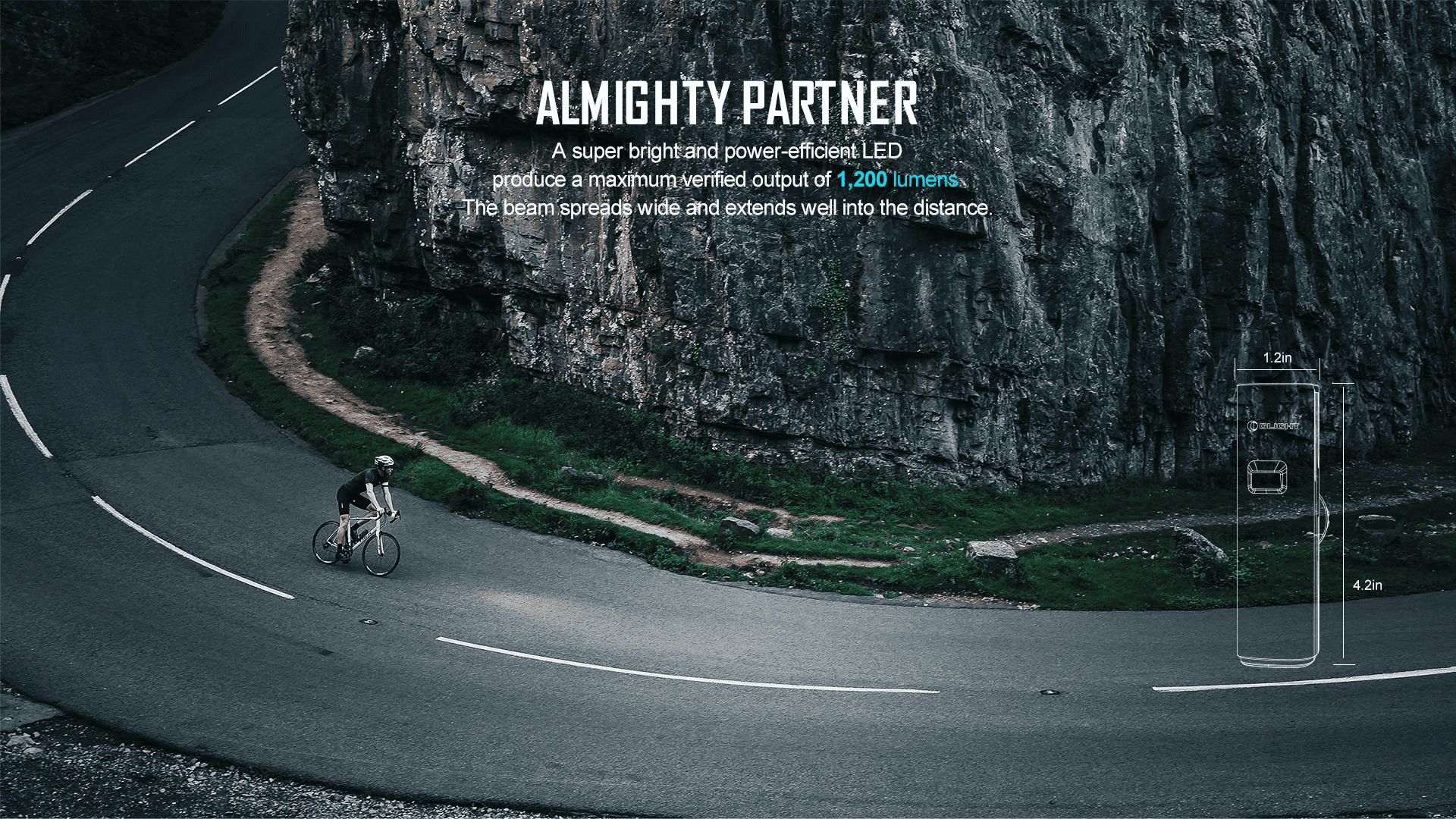 RN 1200 Cycling Light Almighty partner