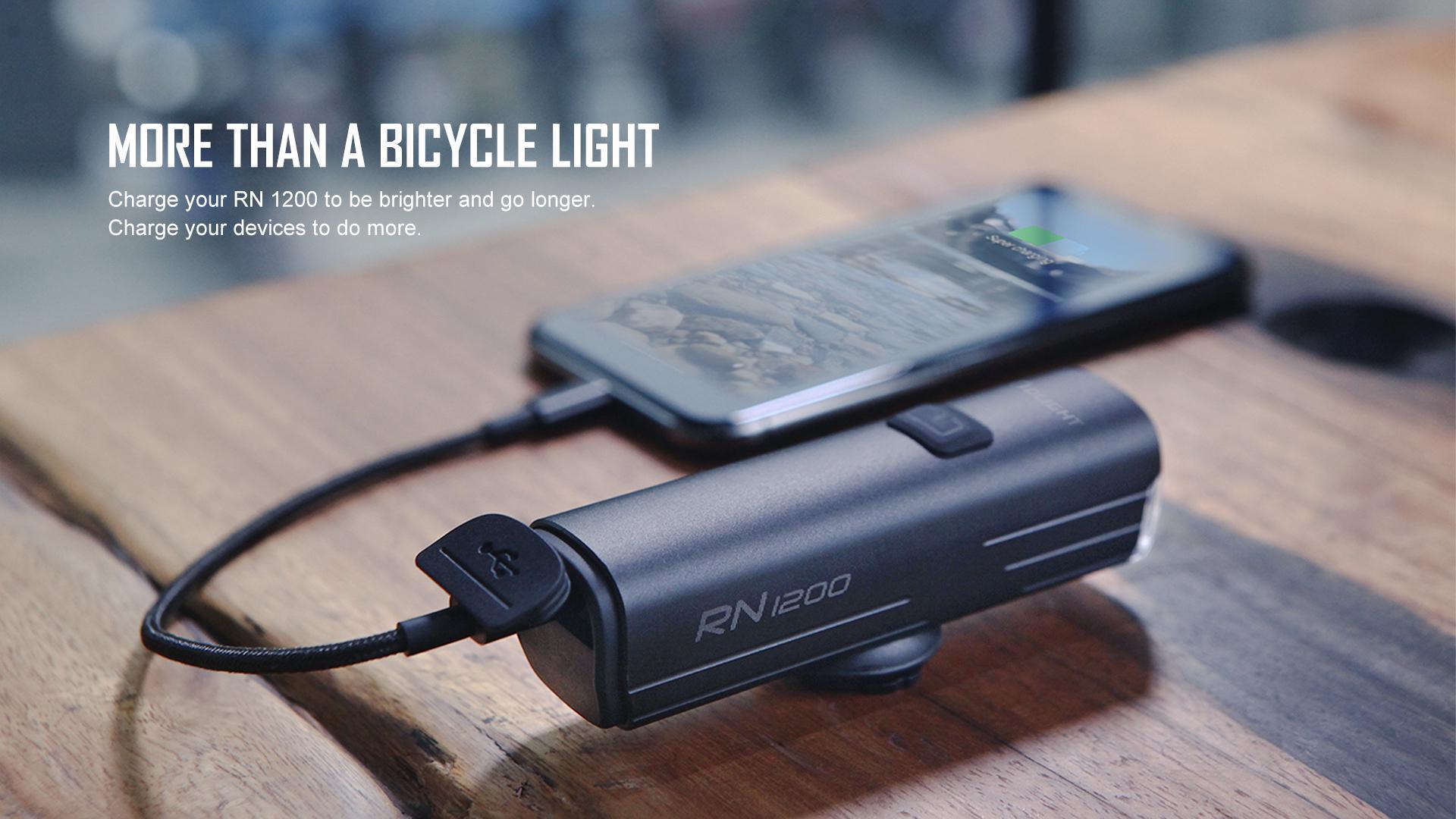 RN 1200 Cycling Light 1200 Lumens