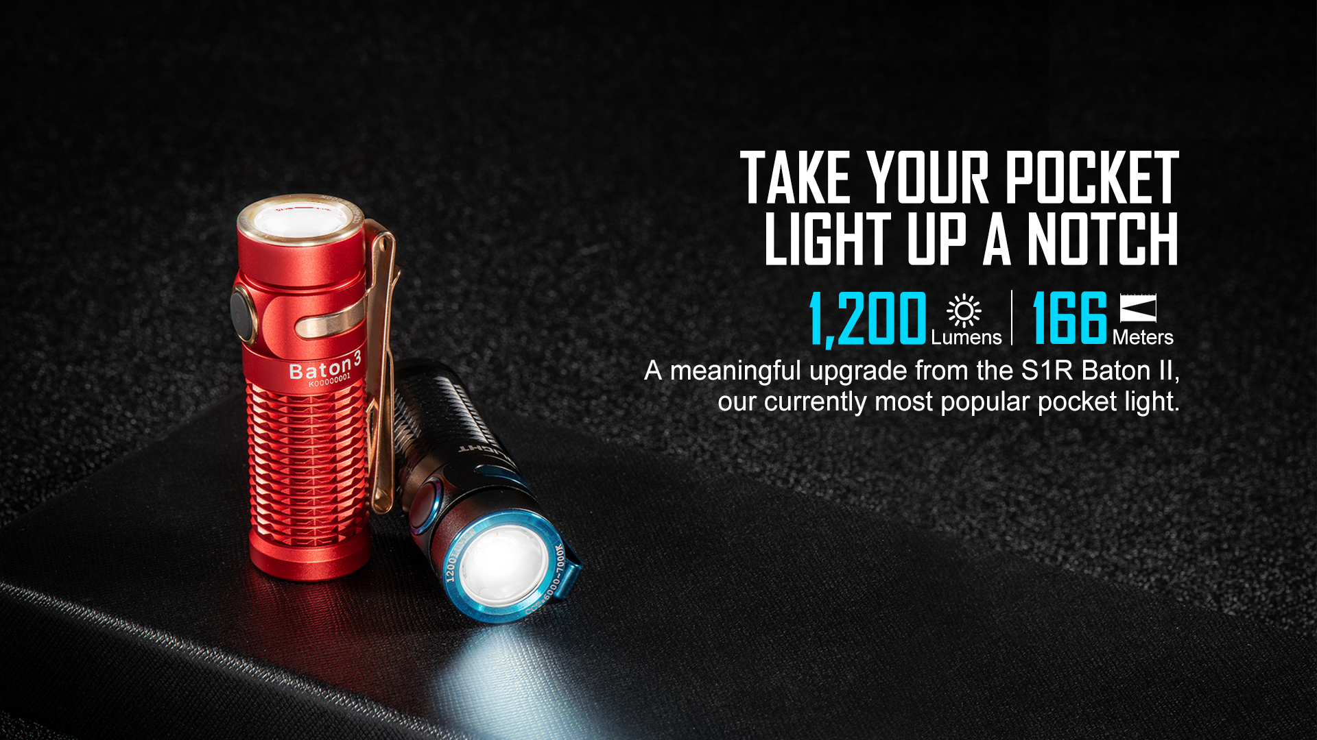Olight Baton 3 Rechargeable LED Pocket Light