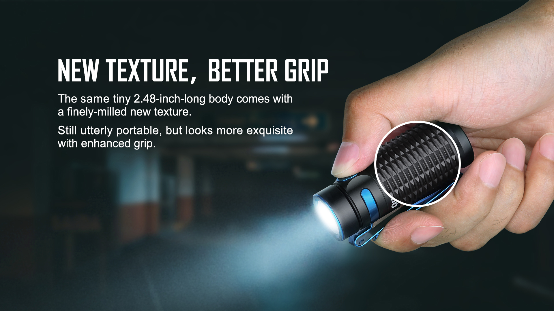 Olight Baton 3 Rechargeable LED New Texture