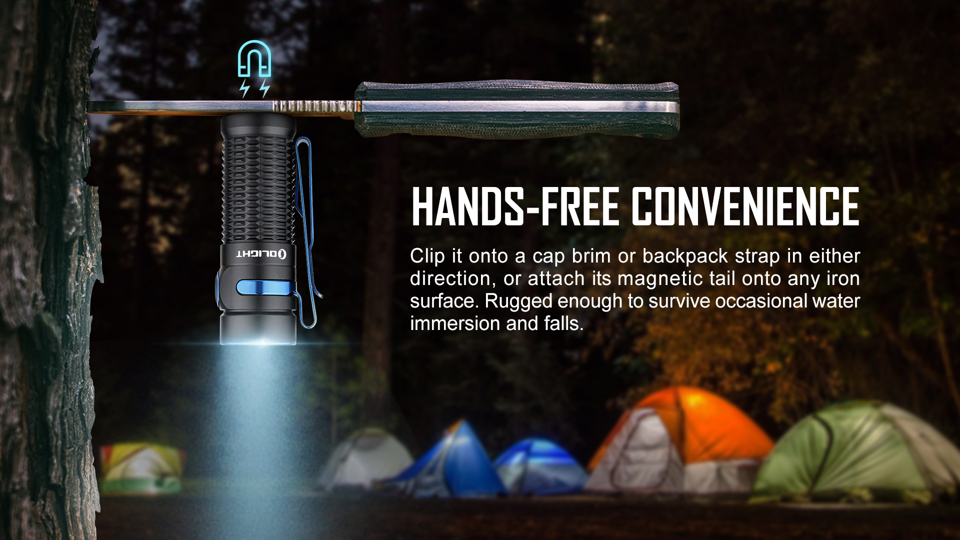Olight Baton 3 Rechargeable LED Hands-free