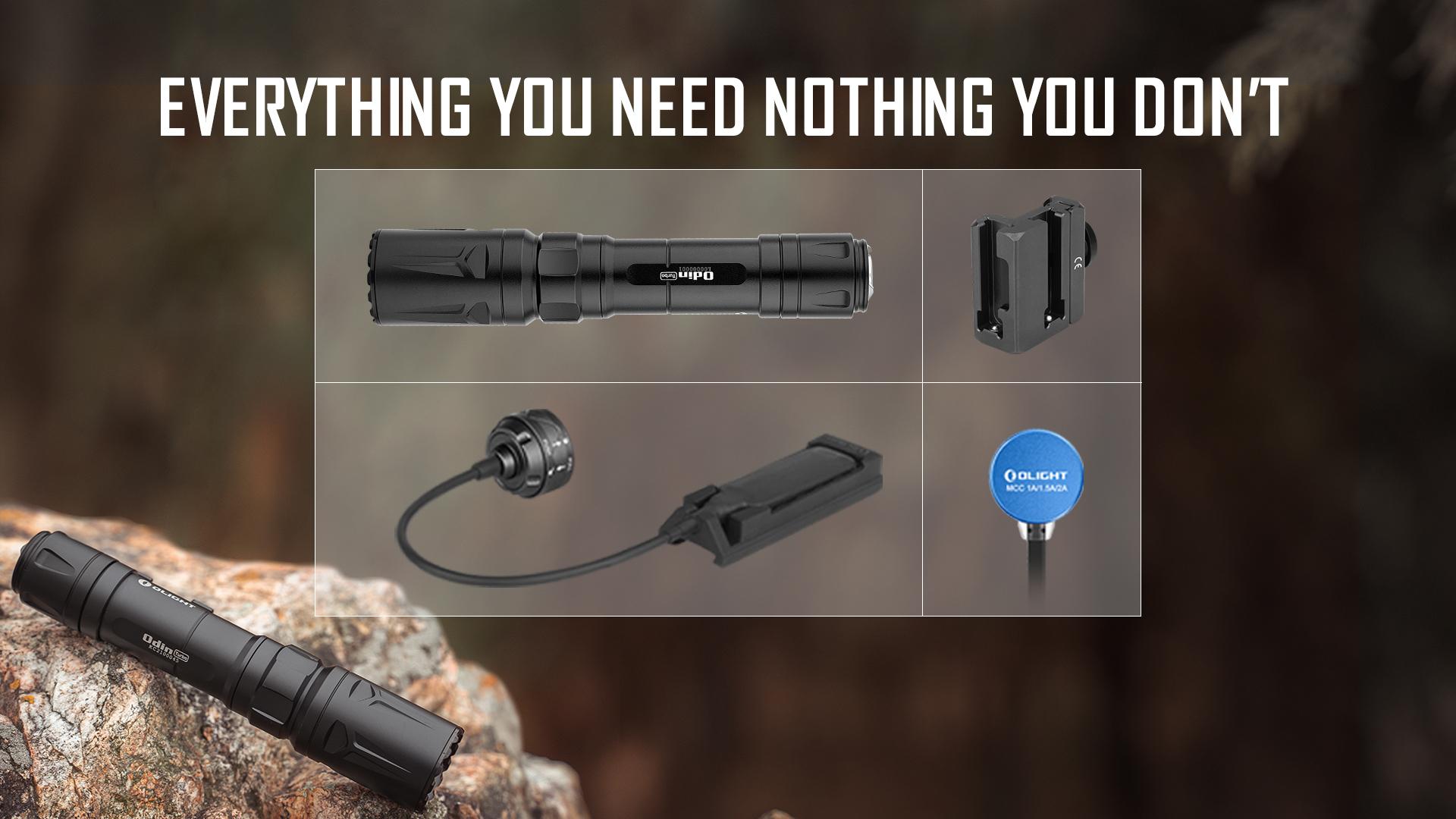 odin turbo powerful flashlight