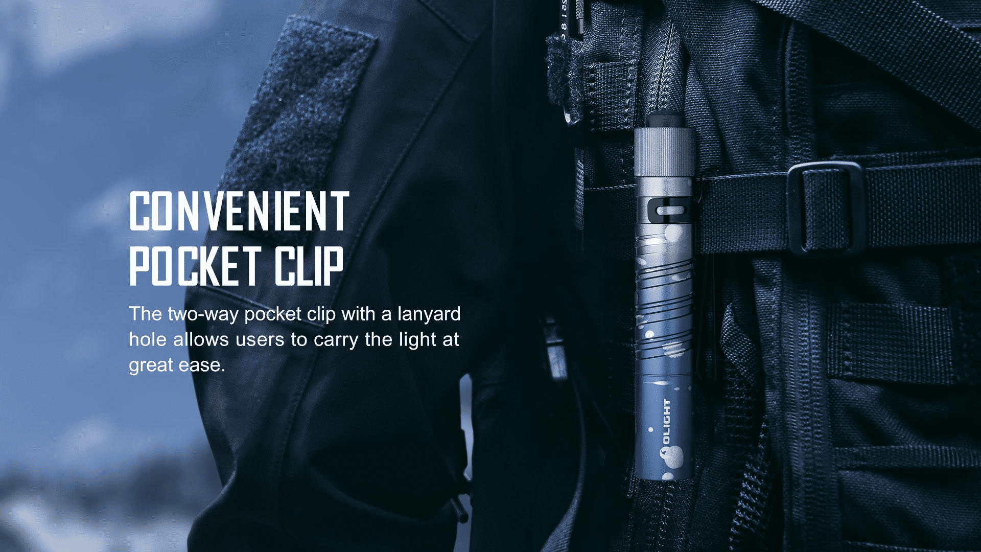i3T EOS small flashlight convenient