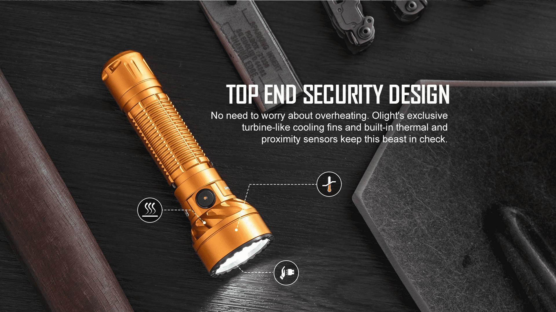 Freyr Tac Light top end security