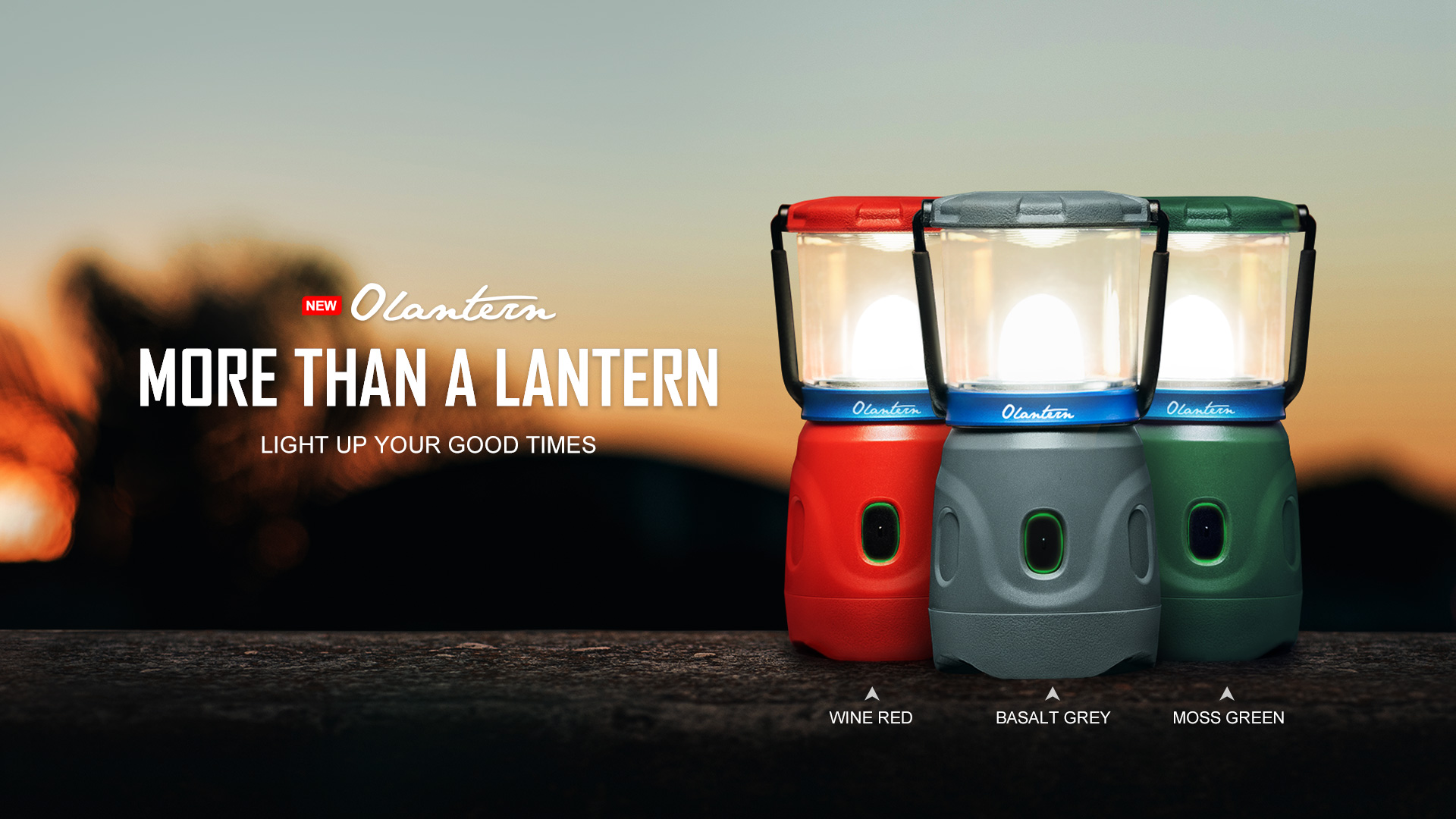 Olantern Rechargeable Camping Lights